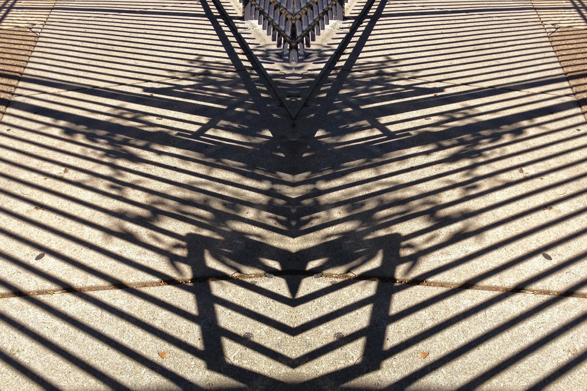 Sidewalk shadows by warriston
