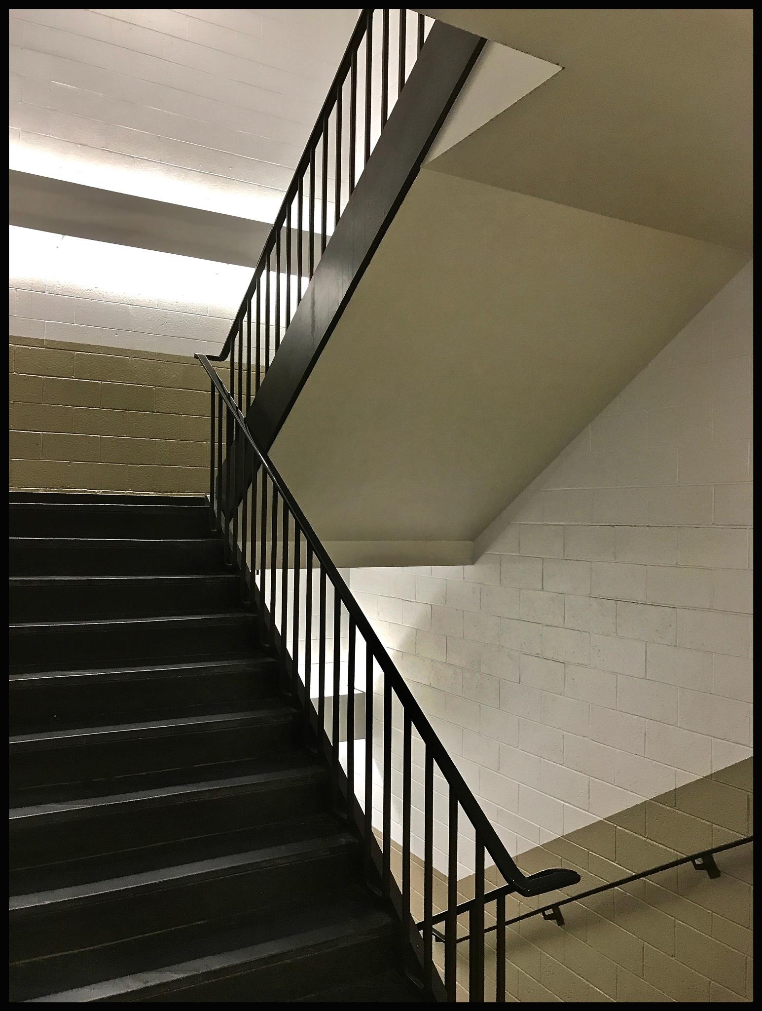 School Stairwell by warriston