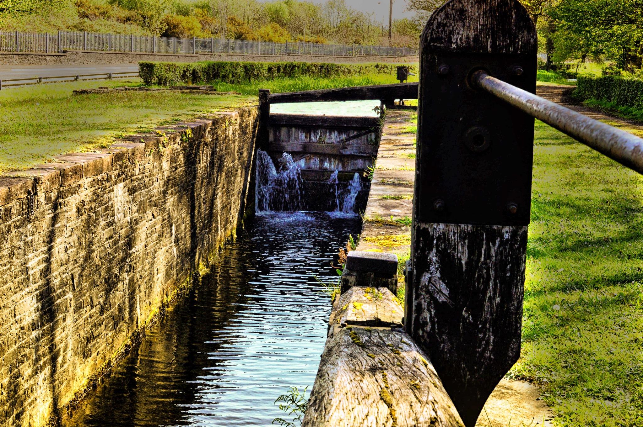 Canal Lock Gate by dew1961cap