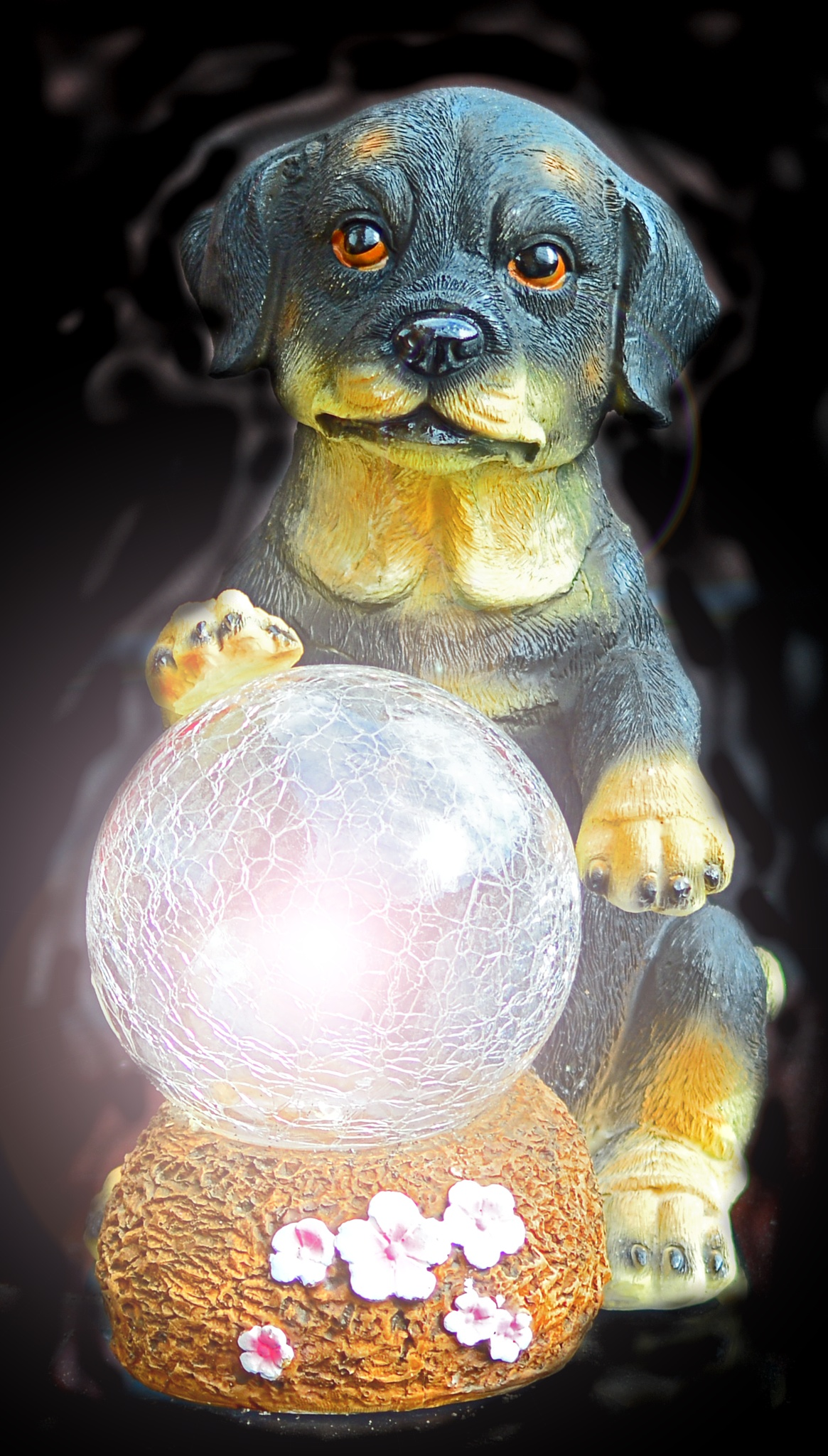 This crystal ball is working by dew1961cap