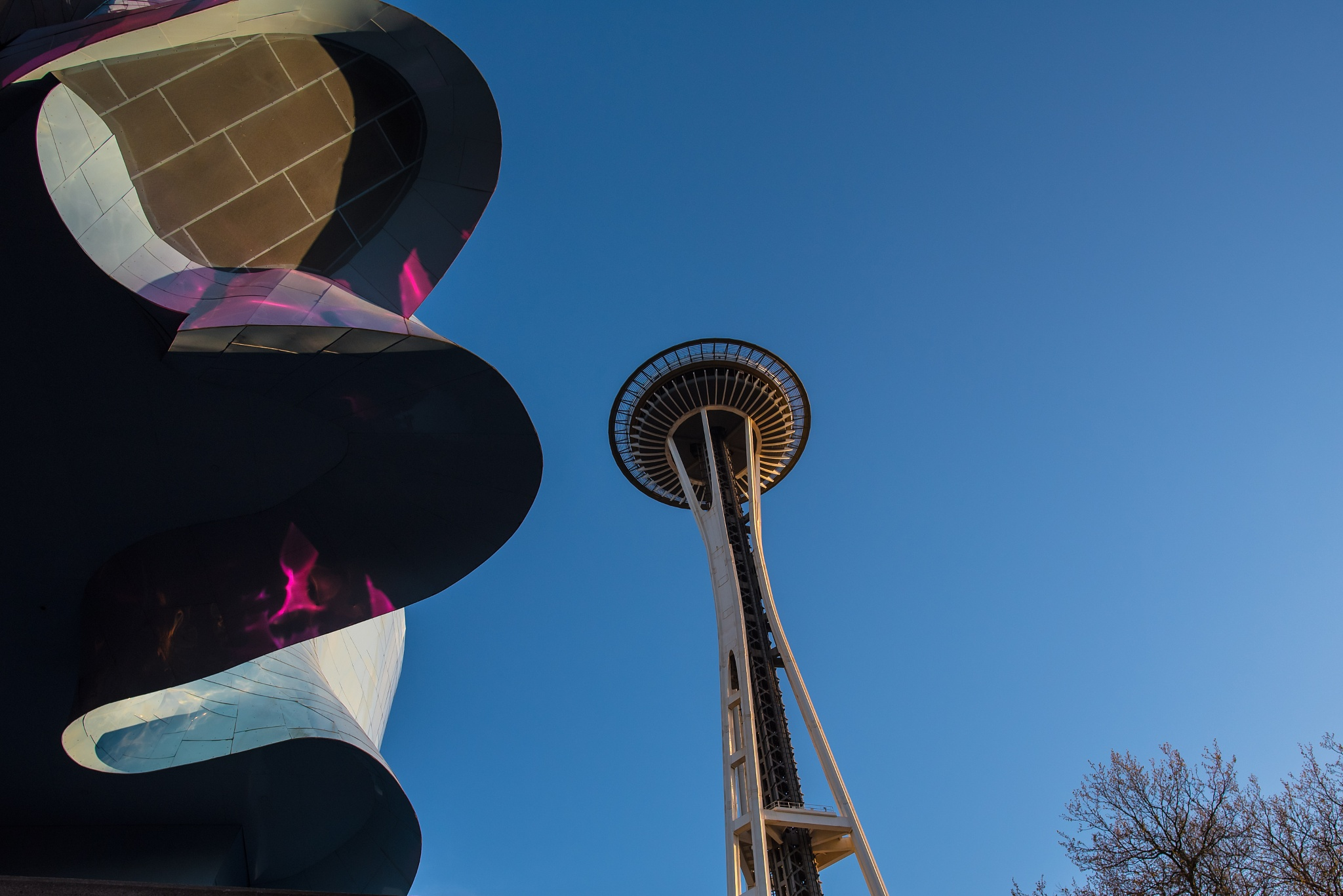 space needle by MTM