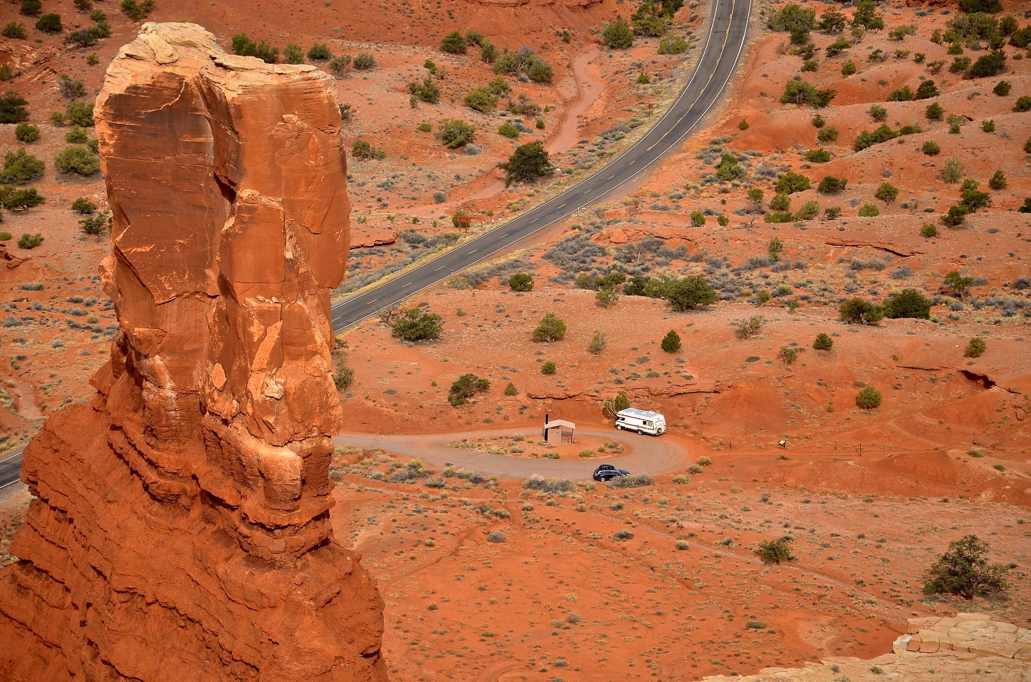 Trailhead - Chimney rock by MTM