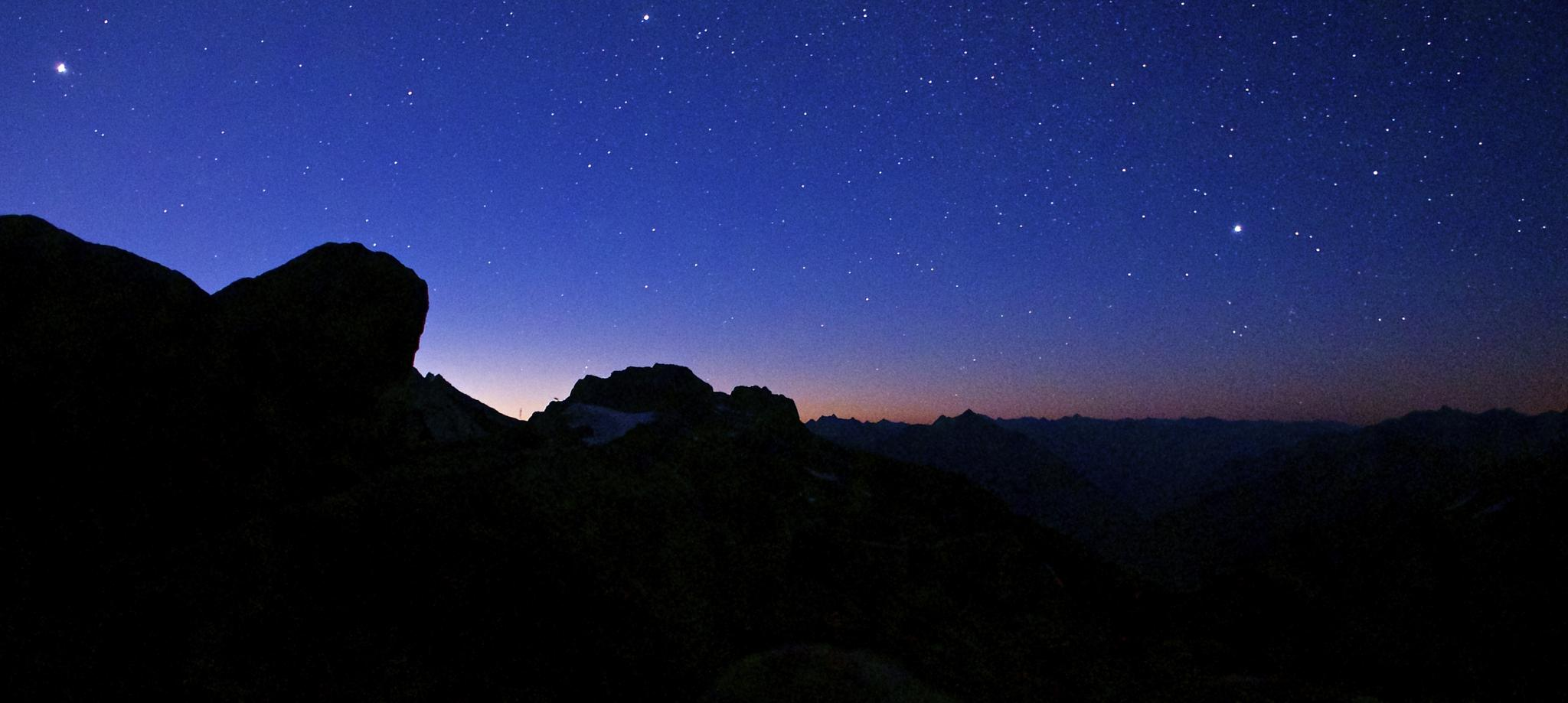 Photo in Astrophotography #sunrise #north cascade