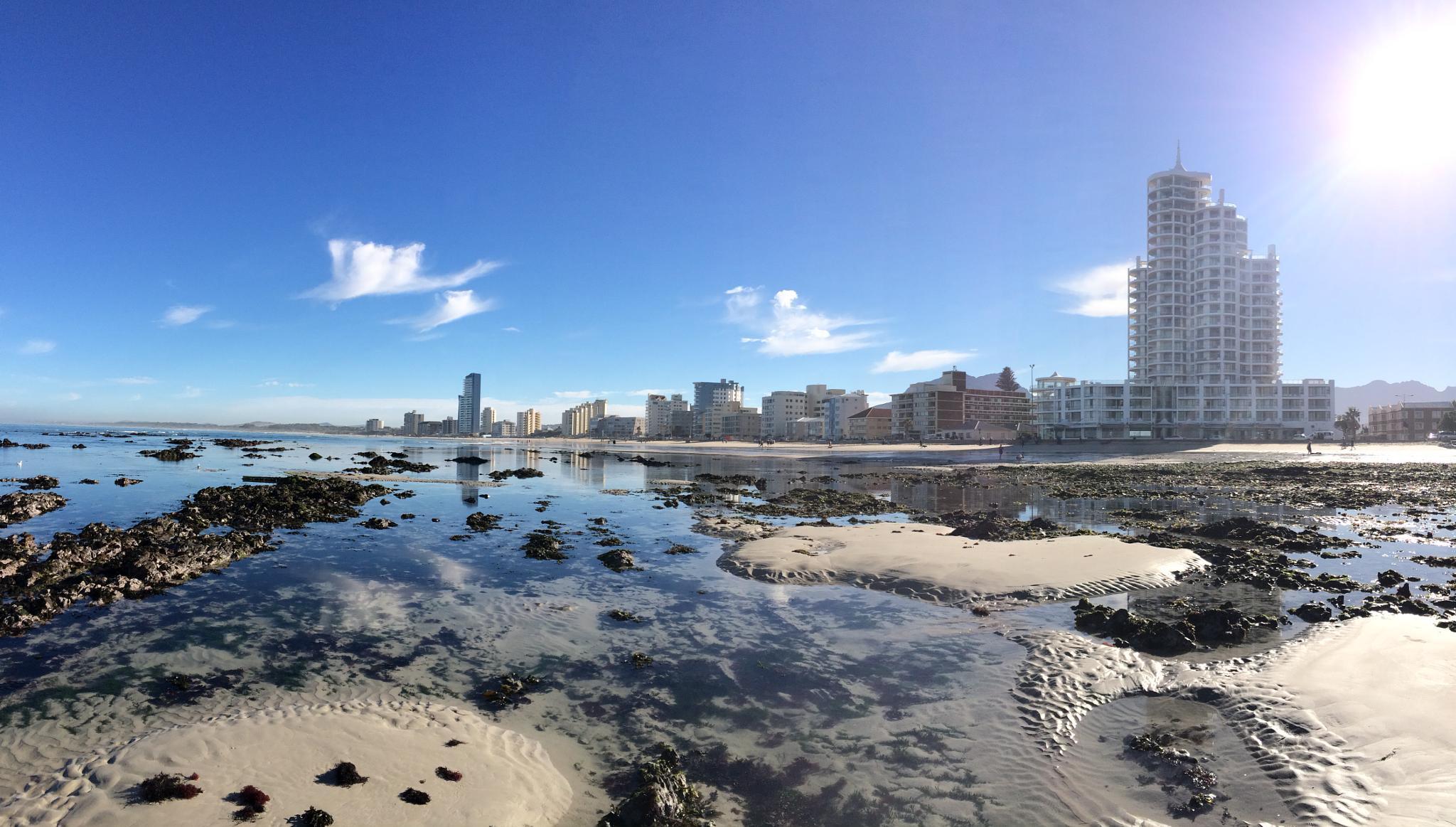 beach cape town by JB