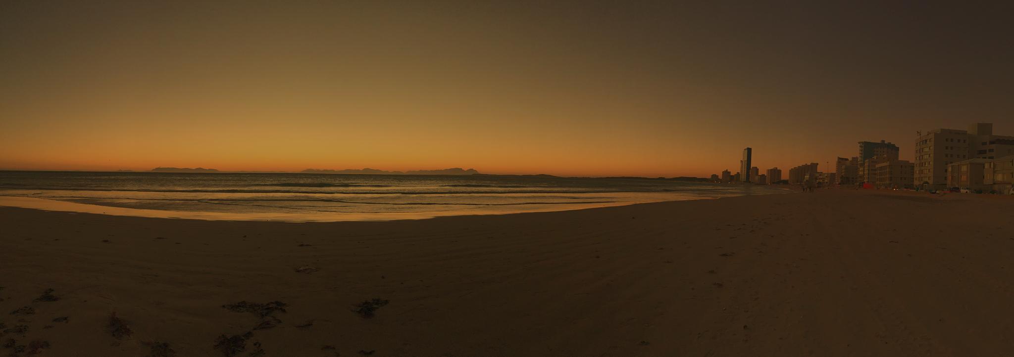 Sun set panorama by JB