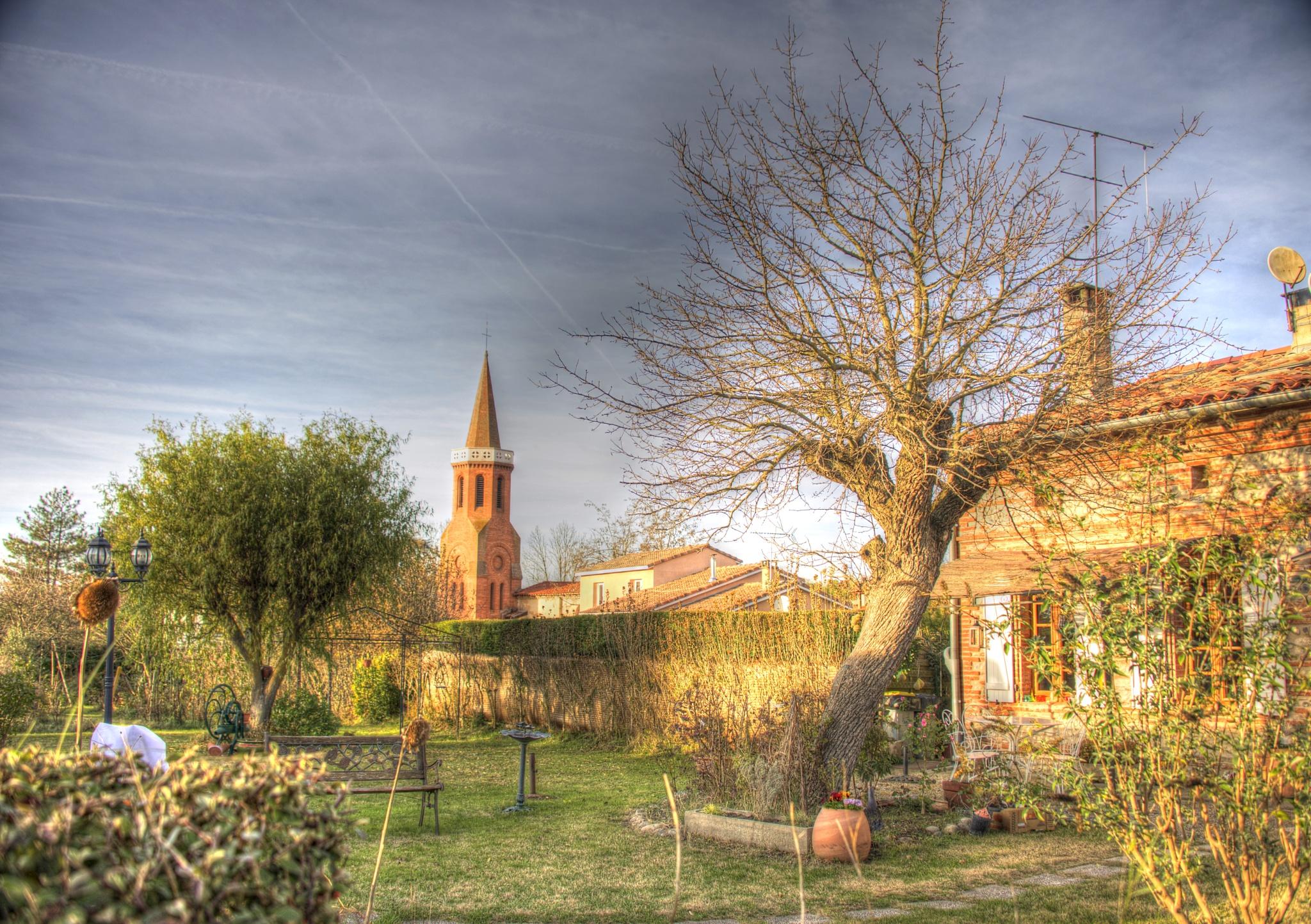 Village house. by Lydie Burgunder