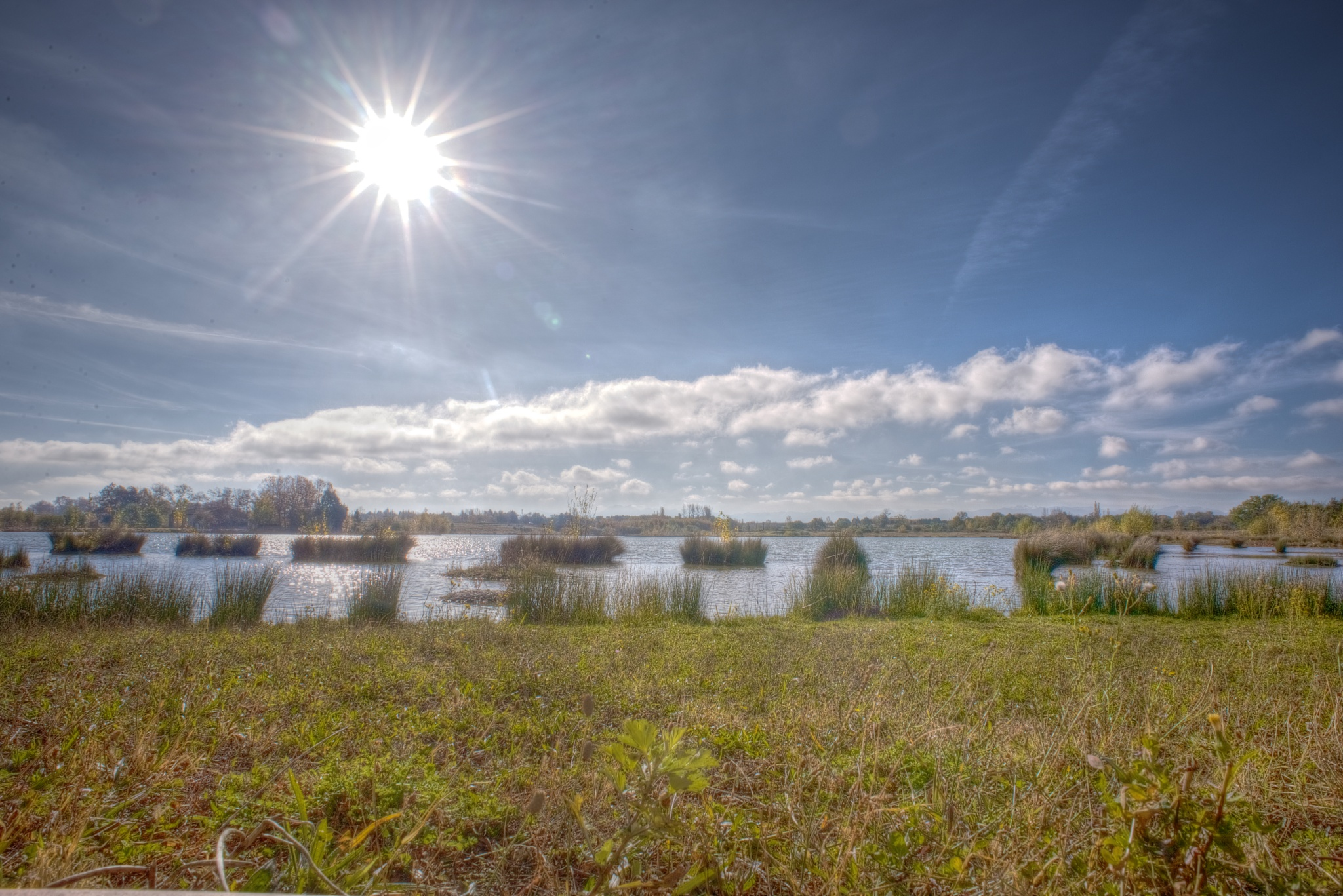 Sun and water . by Lydie Burgunder