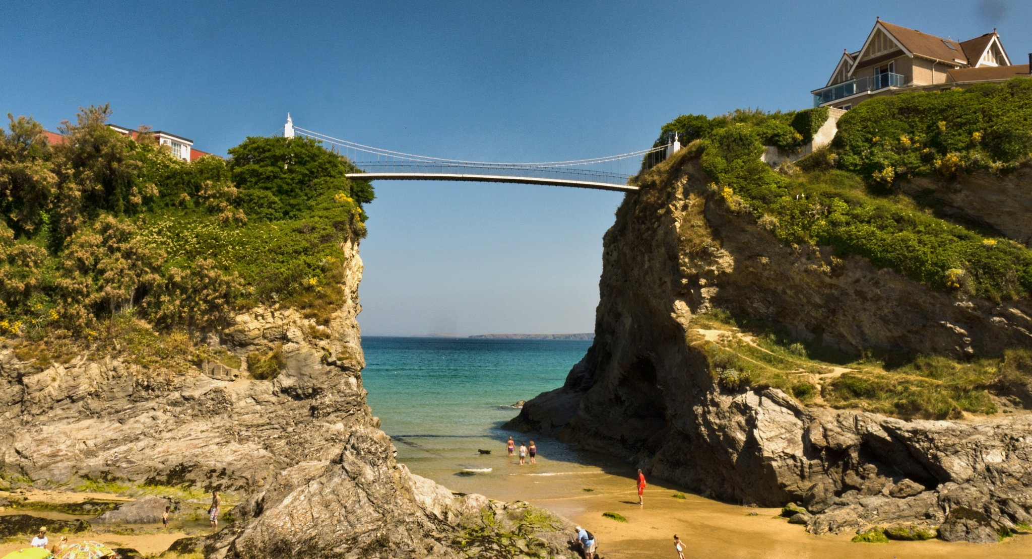 The bridge house Newquay  by Crewman