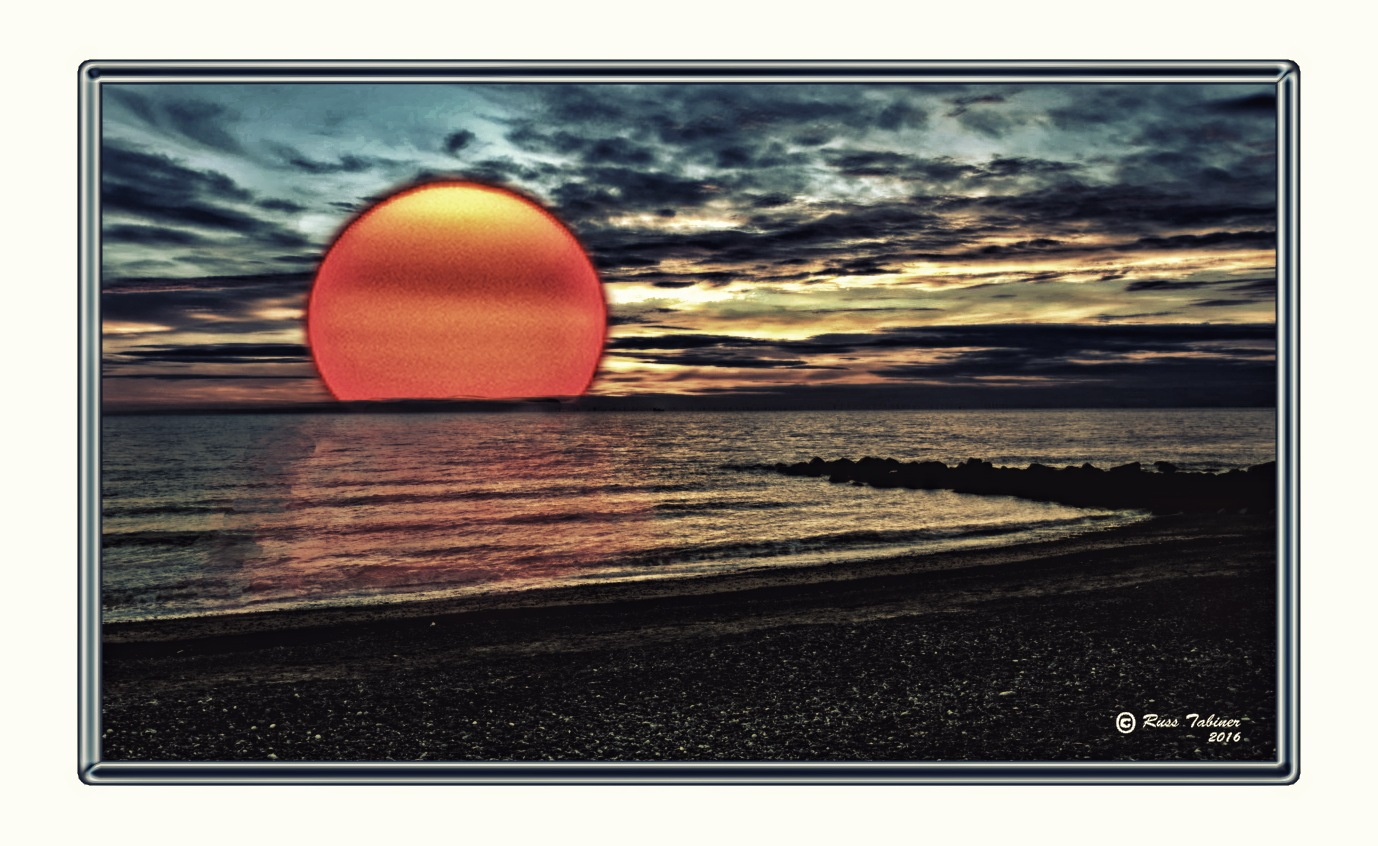 When the sun goes down. by Crewman