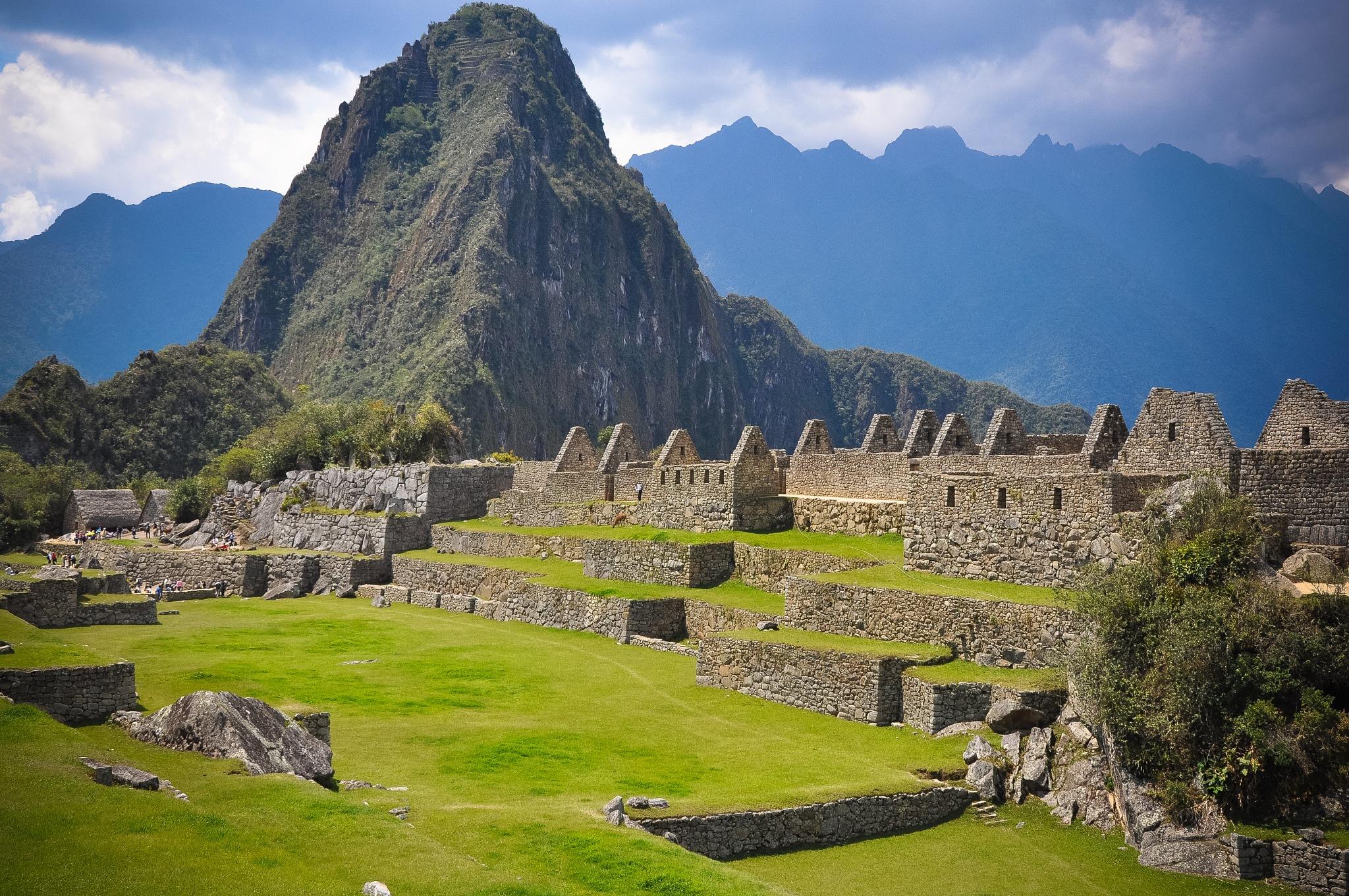 The Main Square, Machu Picchu (Peru) by Jiri Bielicky