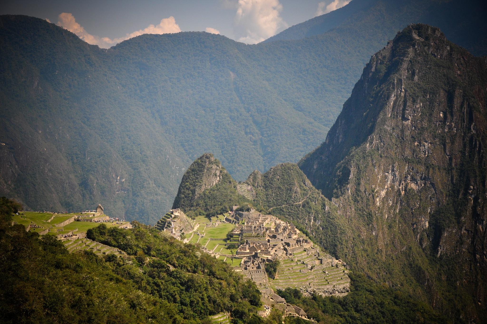 Machu Picchu, Built Around 1450 (Peru) by Jiri Bielicky