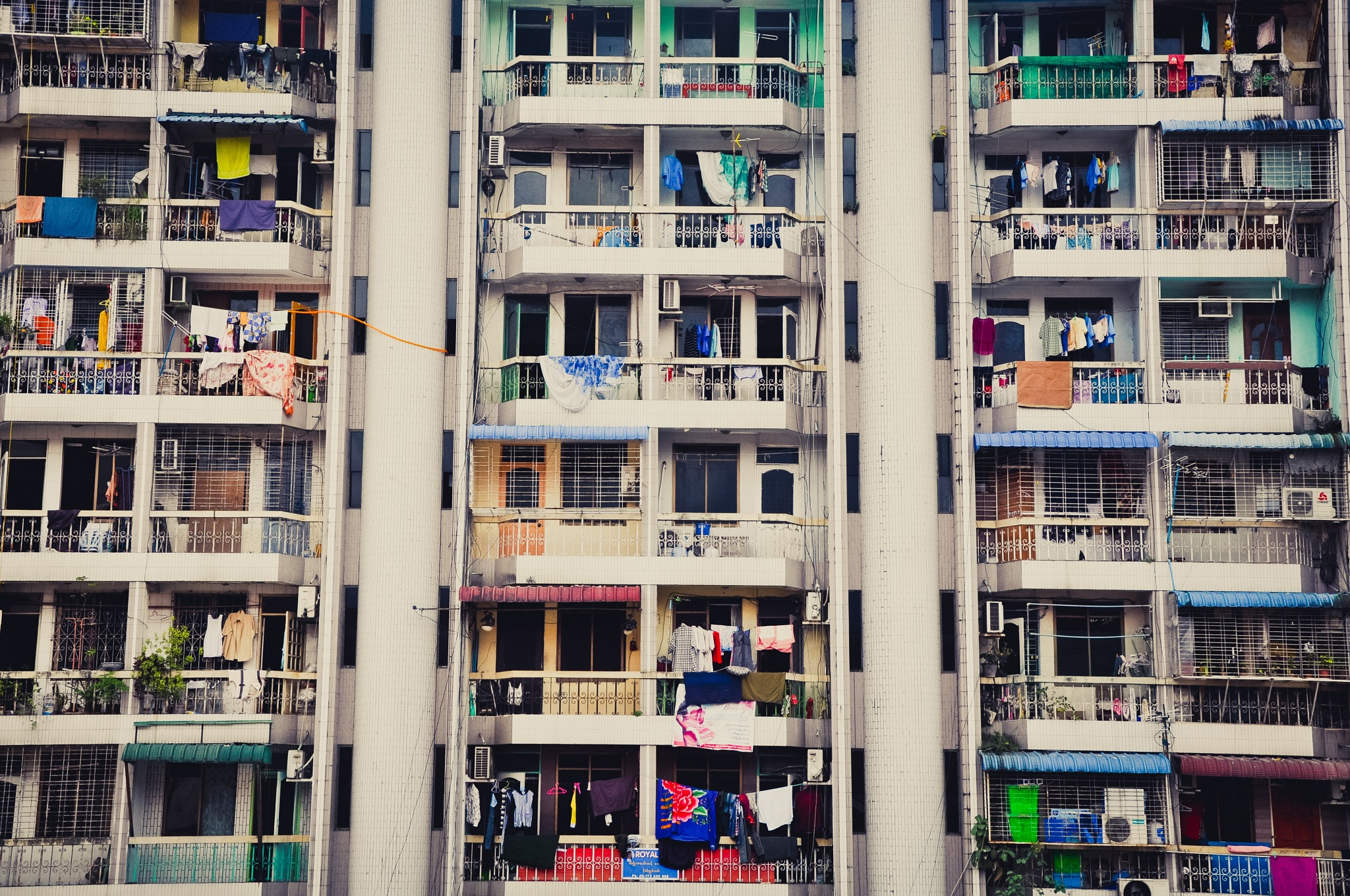 An Apartment In The City (Myanmar) by Jiri Bielicky