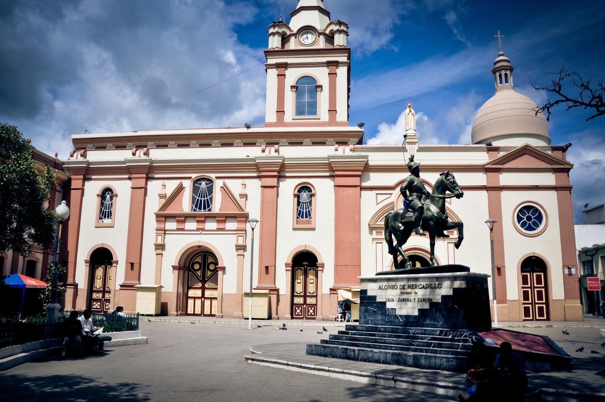 Iglesia de San Francisco Church, Loja (Ecuador) by Jiri Bielicky