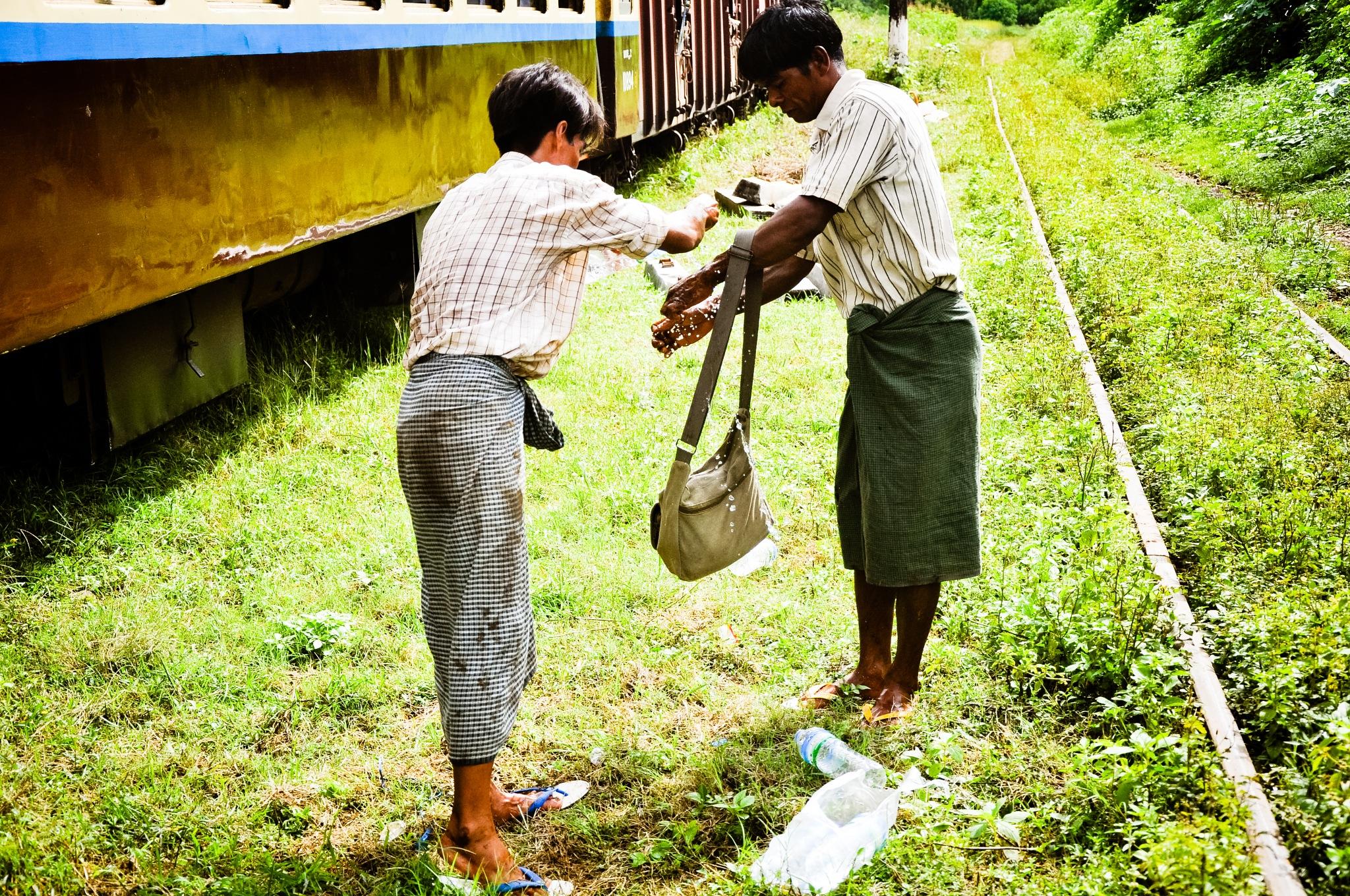 Cooling Down (Myanmar) by Jiri Bielicky