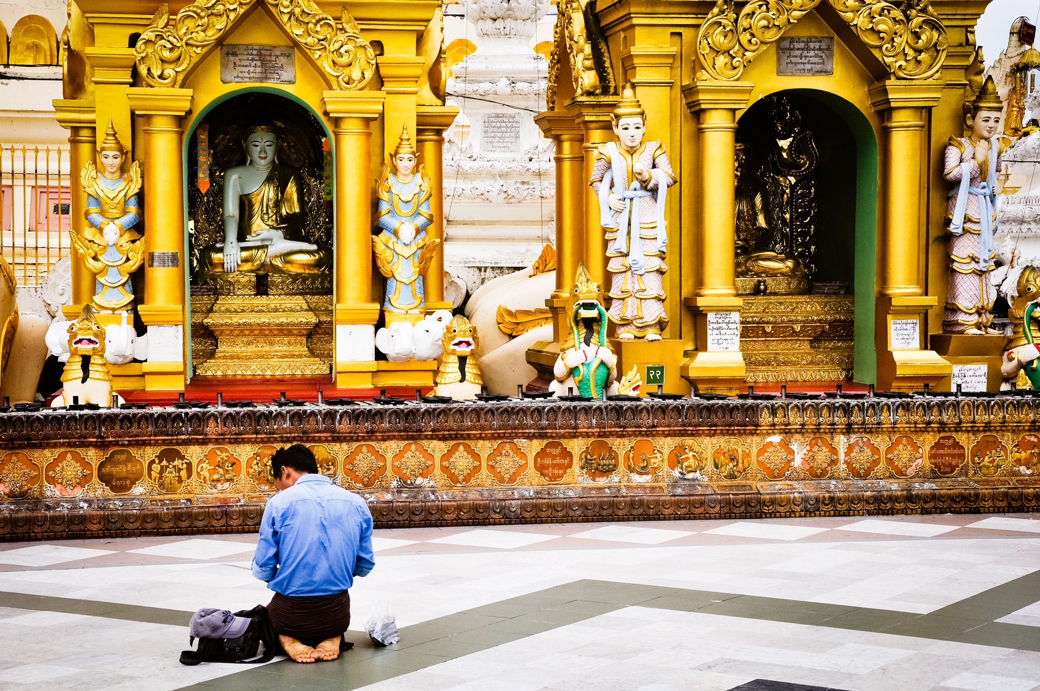 A Time For Worship (Myanmar) by Jiri Bielicky