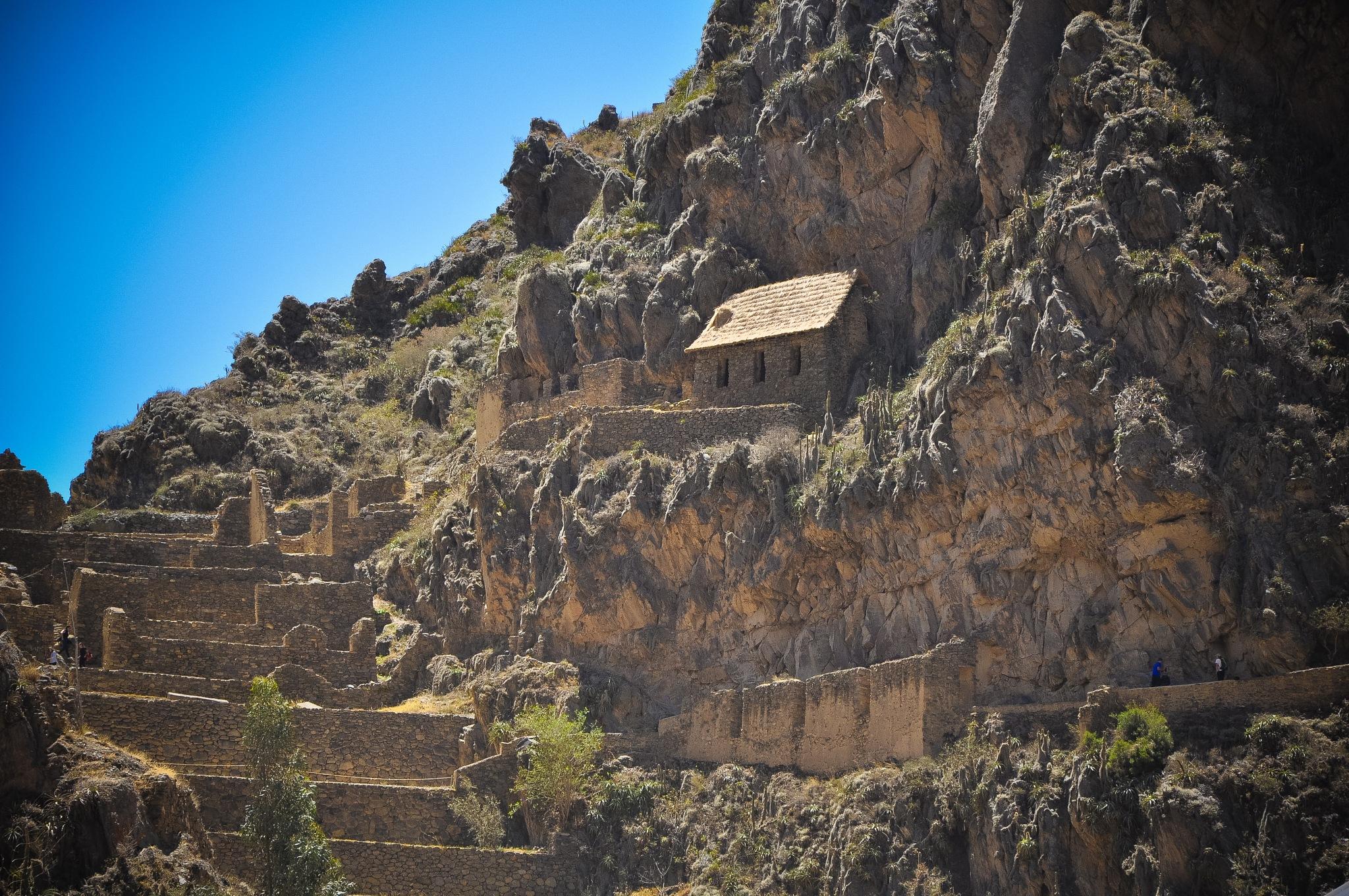 The Ollantaytambo Inca Ruins (Peru) by Jiri Bielicky