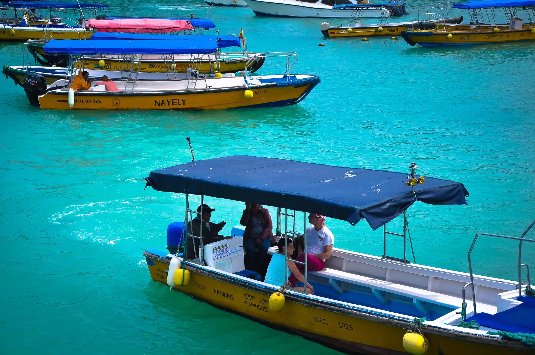 Taxis Of Puerto Ayora, Galápagos Islands (Ecuador) by Jiri Bielicky
