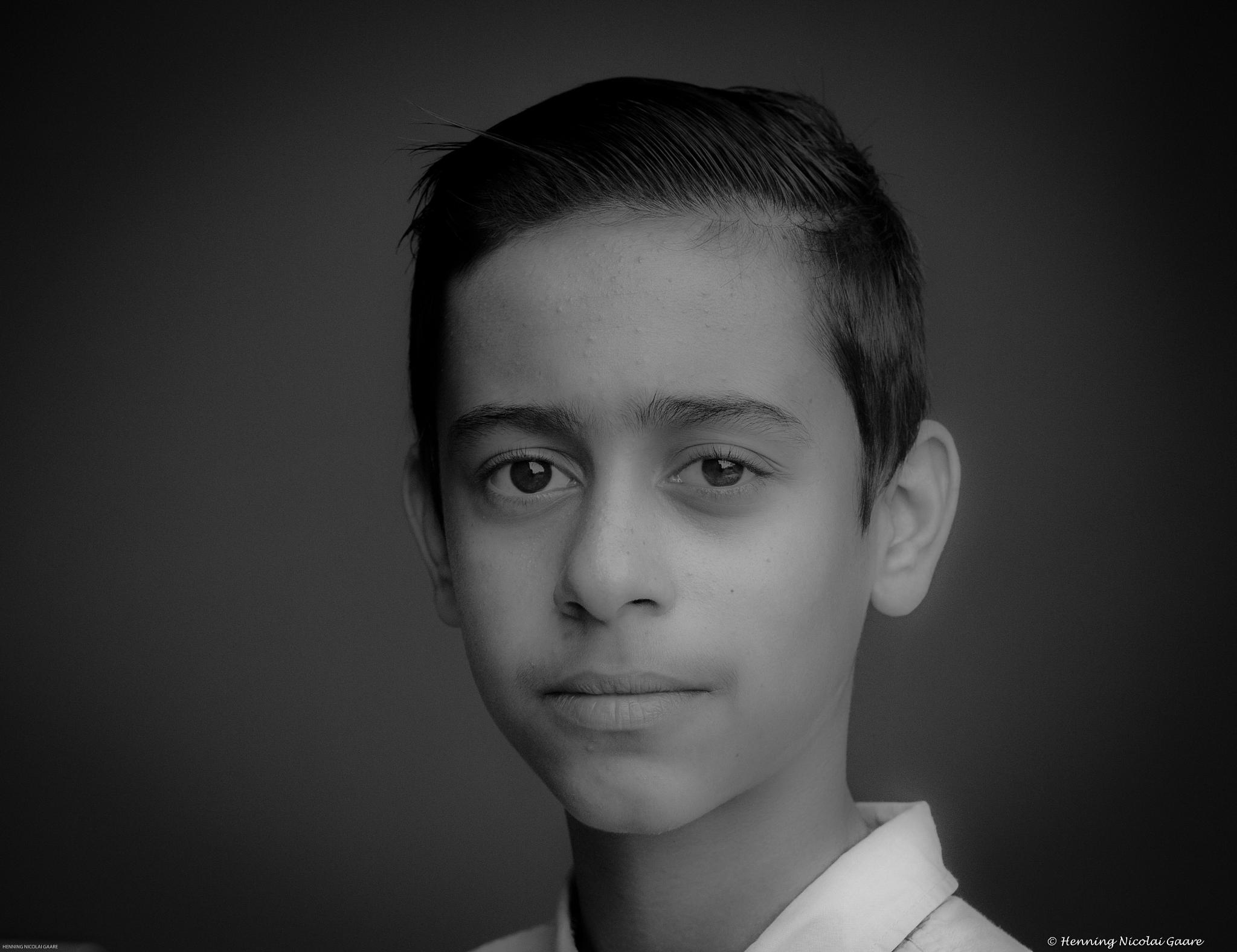 Photo in Portrait #portrait #norway #black&white