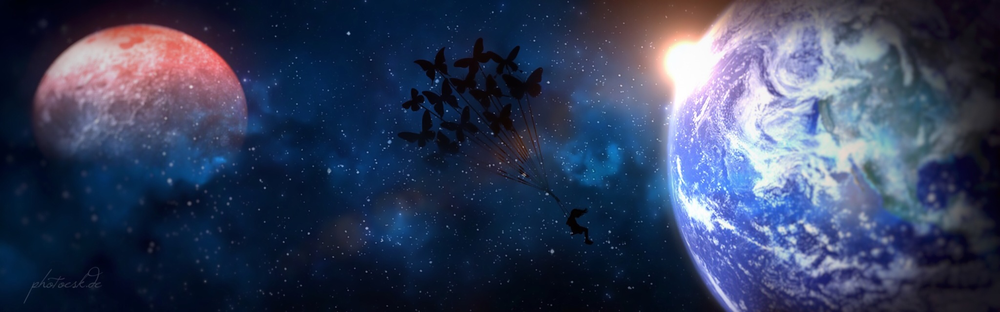 """Fly me to the moon - Series """"Childhood"""" by photoesk - just Art"""