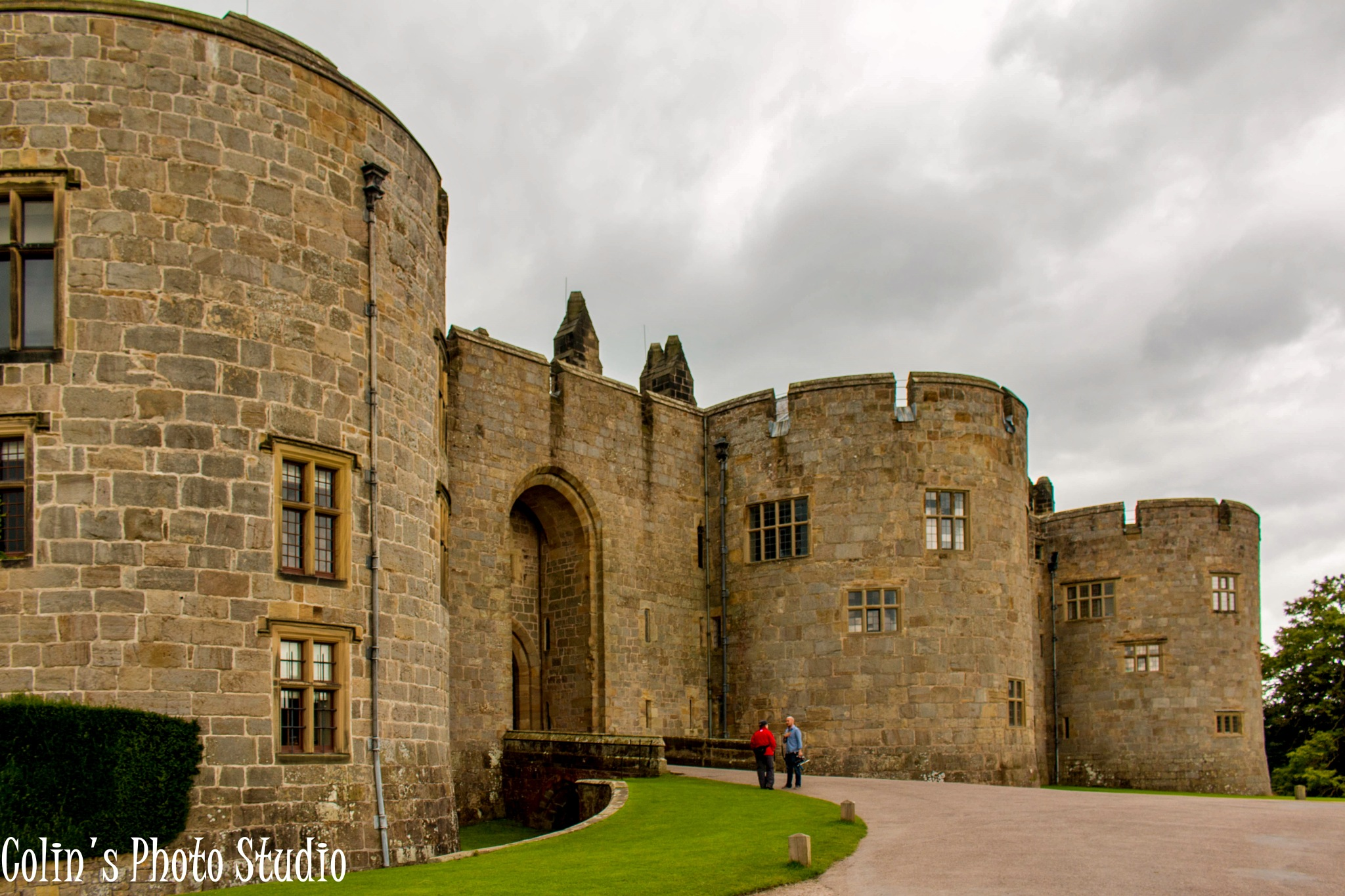 Chirk Castle entrance by Colin