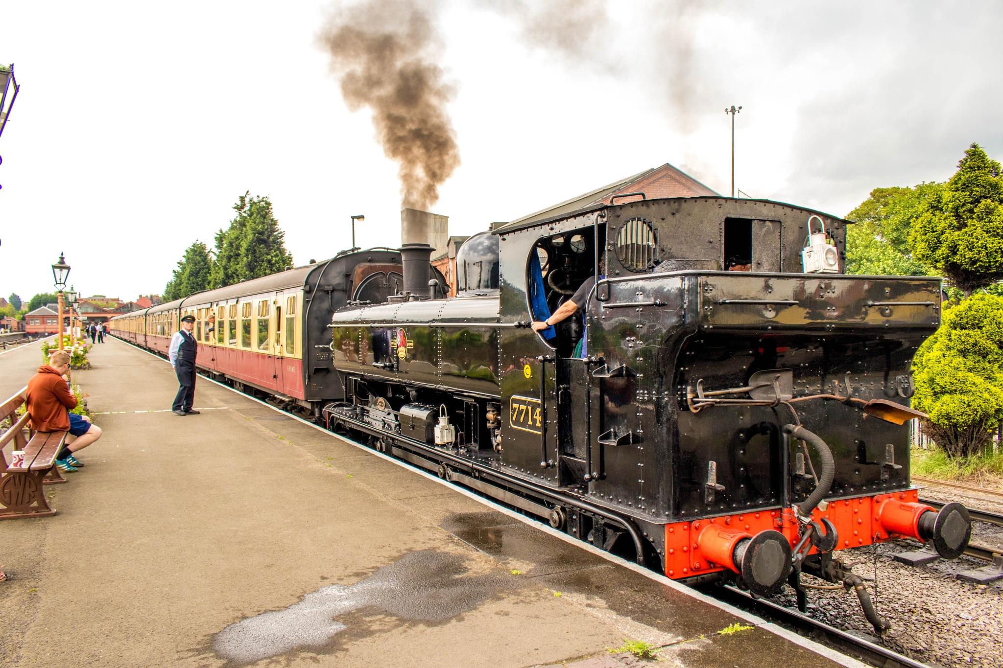 Steam Train by Colin