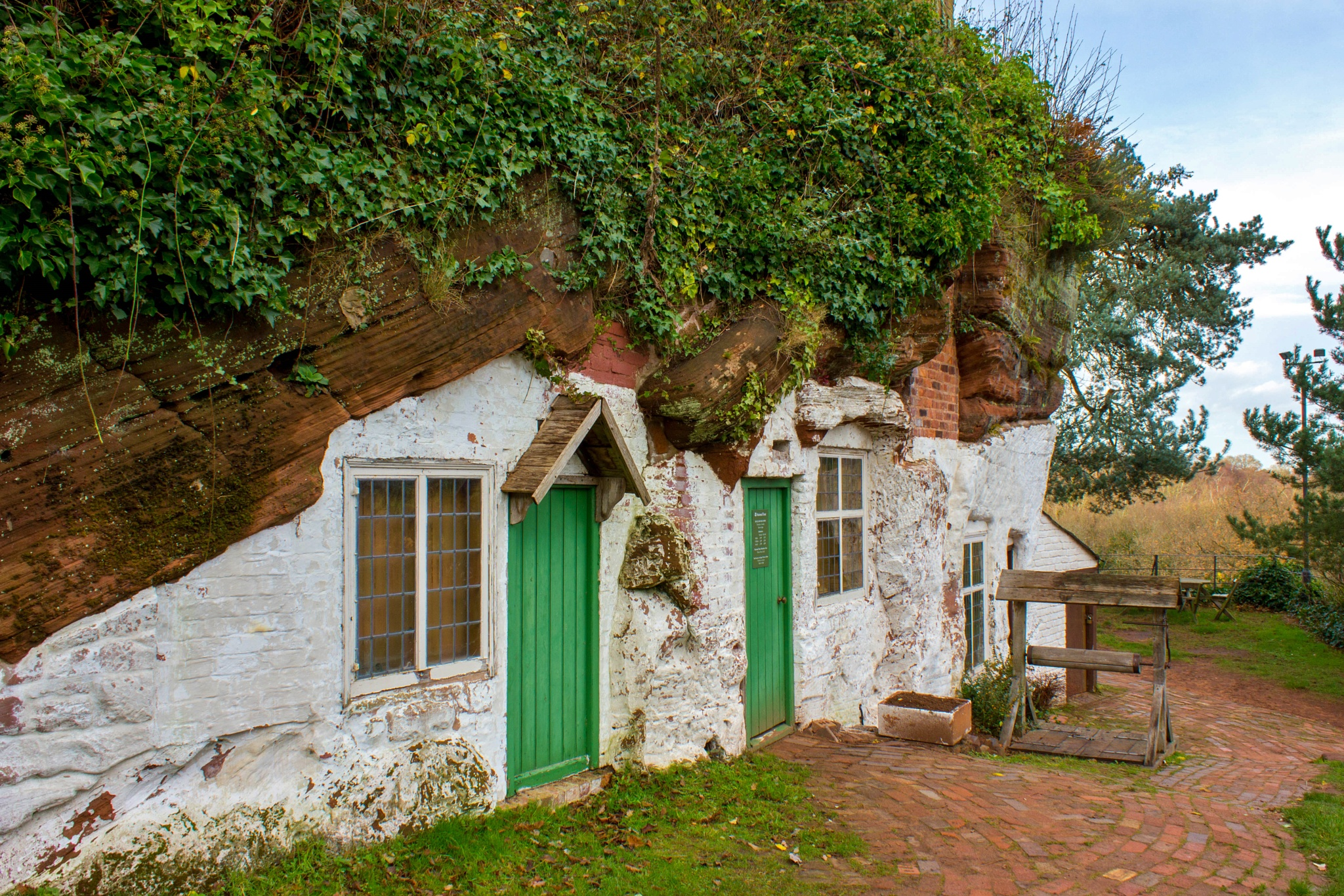 Kinver Rock Houses by Colin