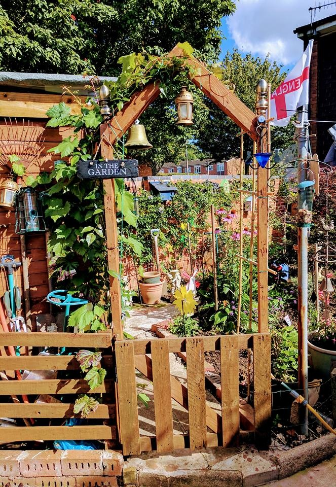 Love pottering in my garden. by Colin