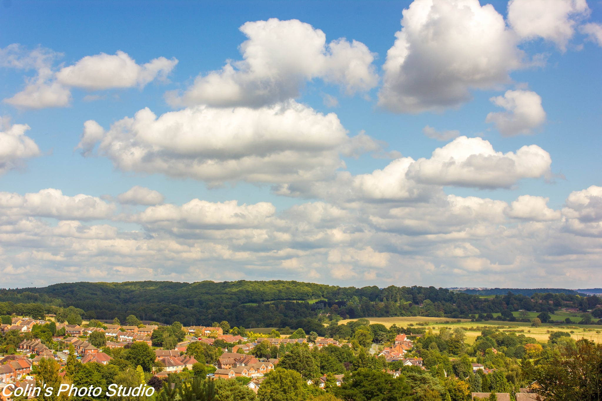 Looking over Kinver by Colin
