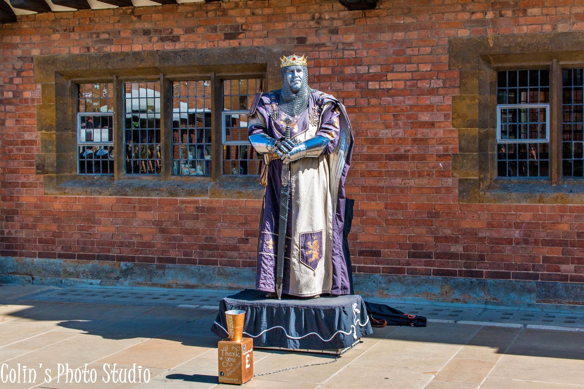 Live Statue by Colin