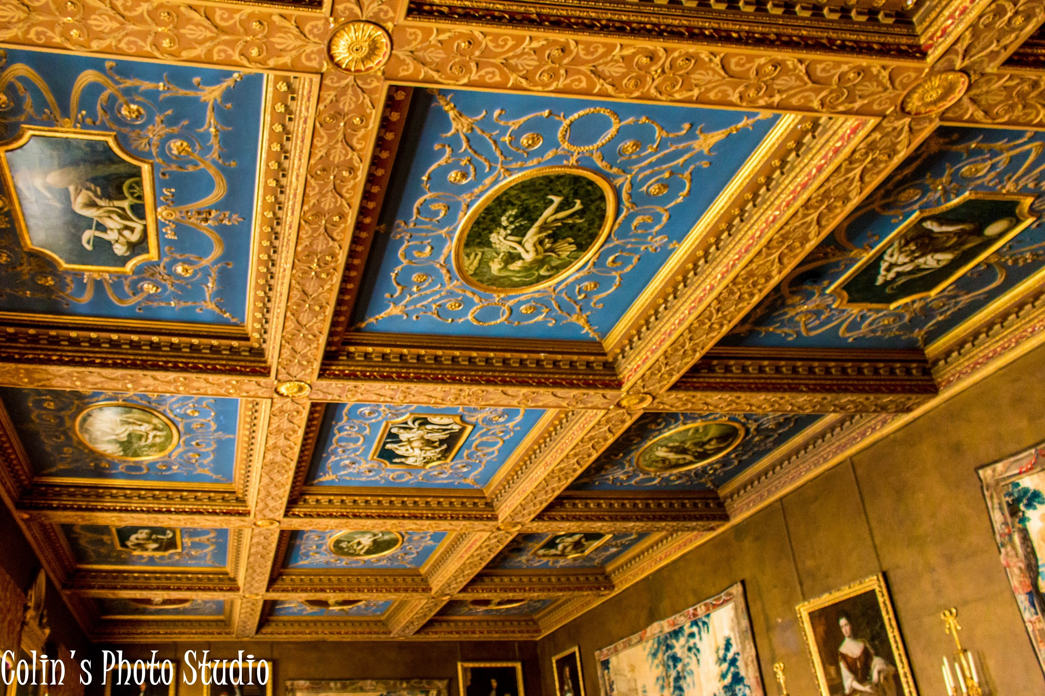Ceiling of the Lounge by Colin