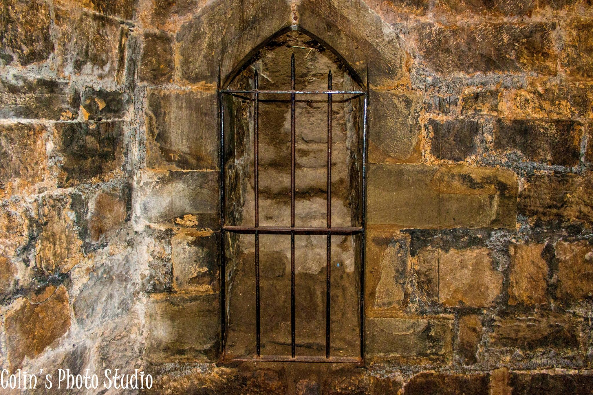 Prison in cellar by Colin