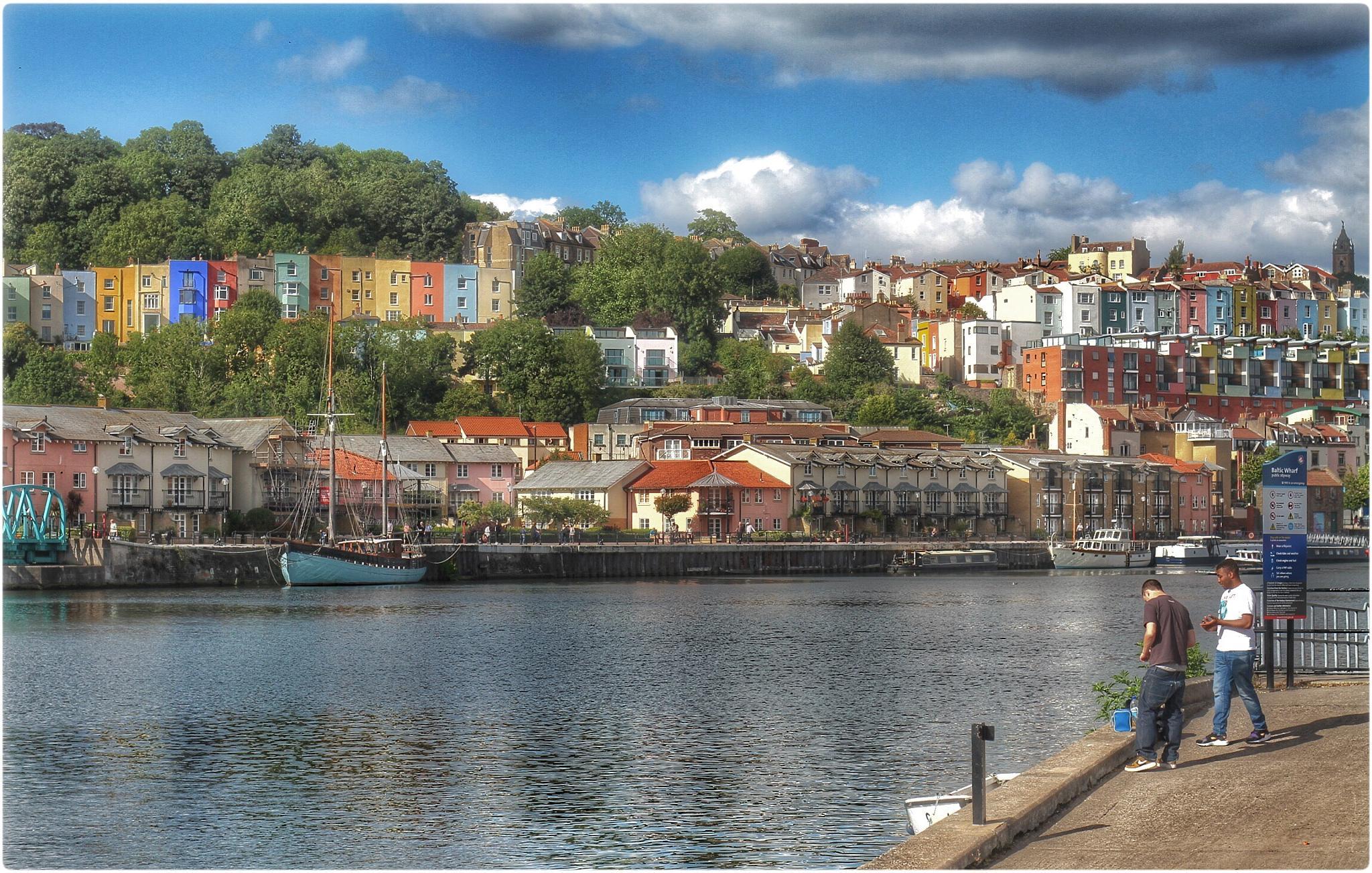 Bristol harbourside by John John McLane Freelance photographer