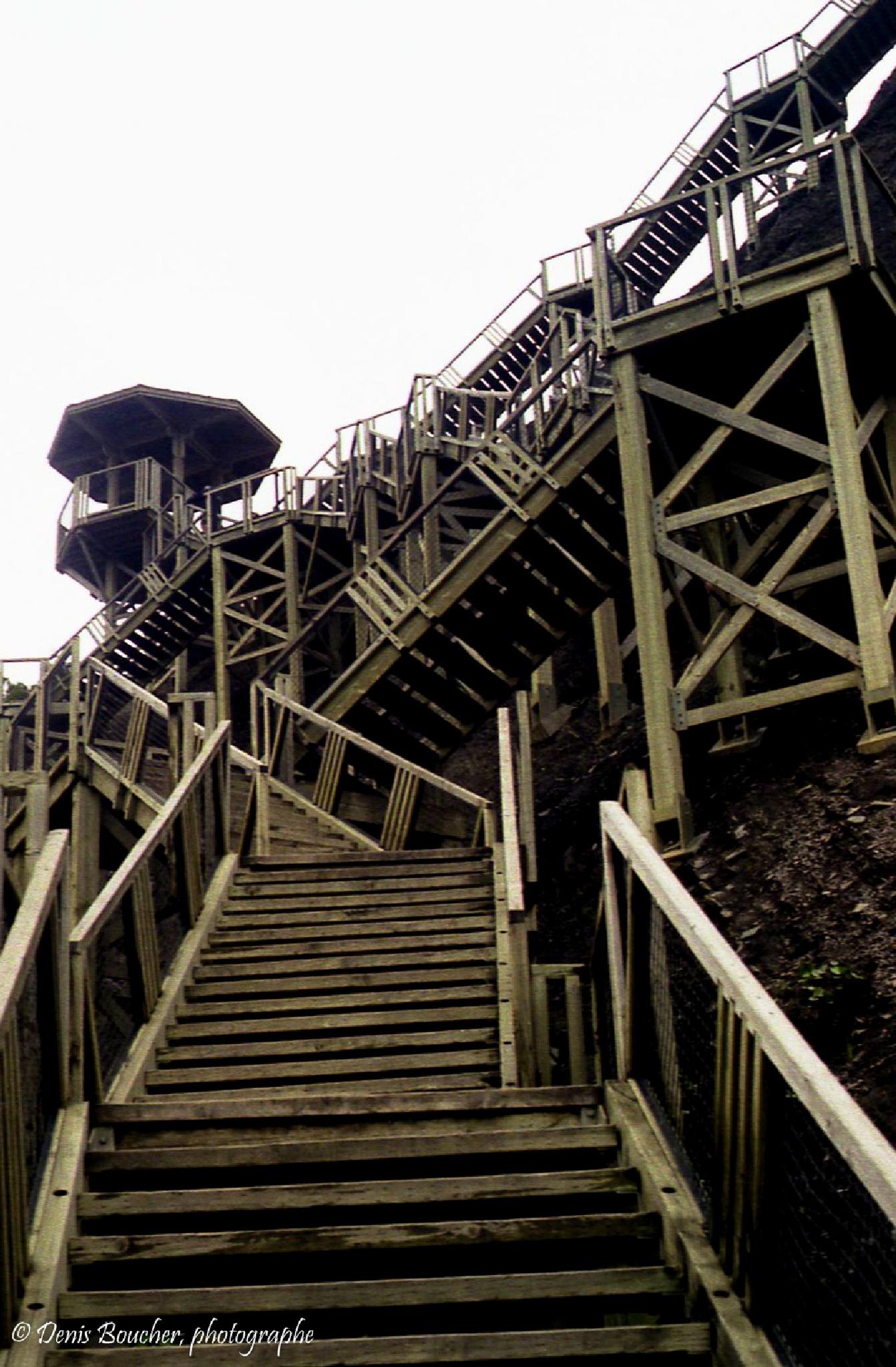 L'escalier by Denis Boucher