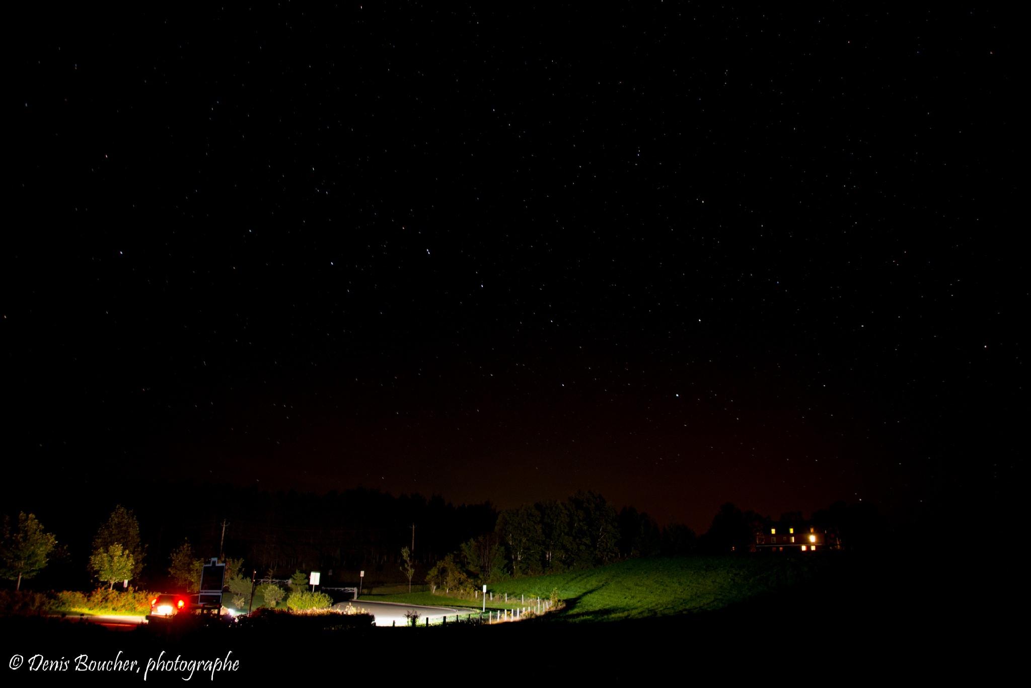 nuit étoilée by Denis Boucher