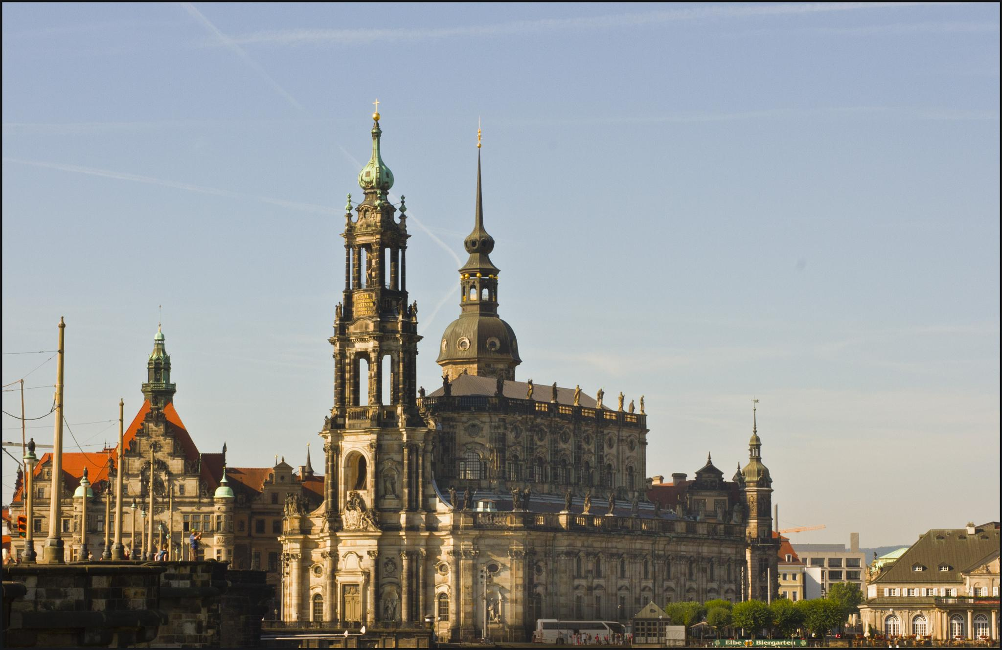 Castle in Dresden by Laine