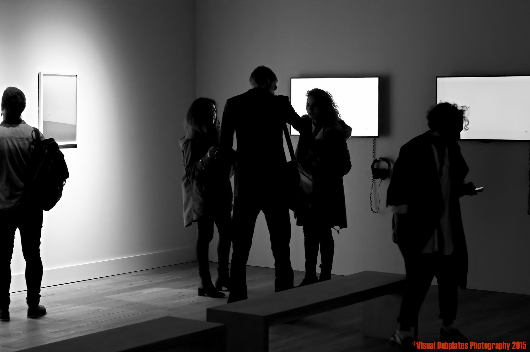 Inside HOME art & theatre space. The opening night. by Visual Dubplates Photography