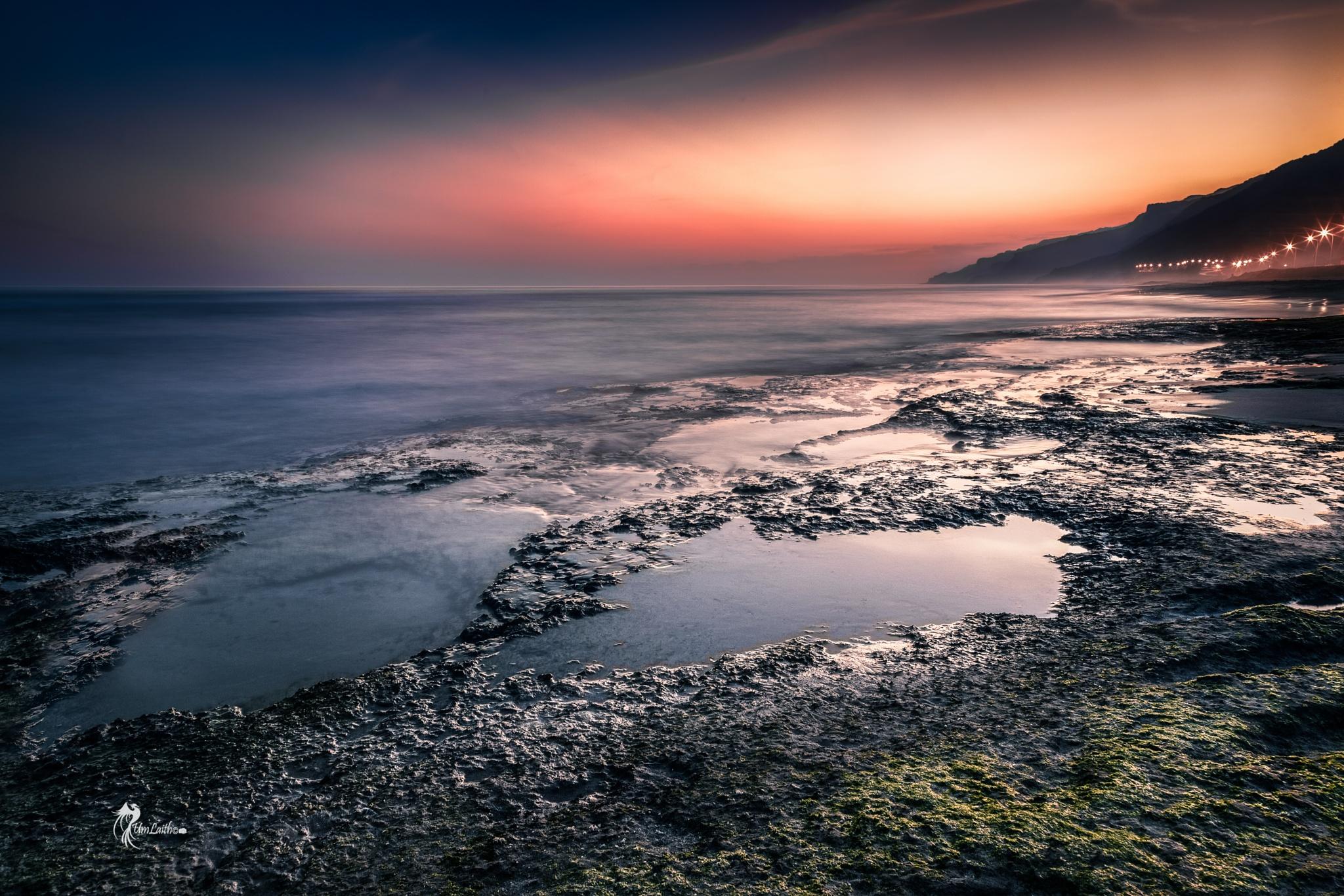 Sunset Reflection Games by Fatima Al-Amri