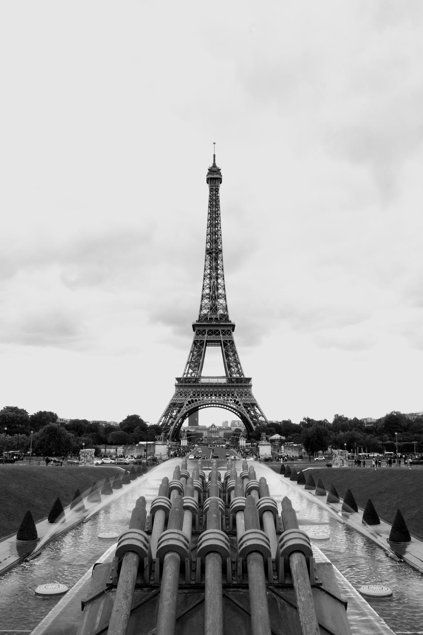 Paris Eifelturm by Freihandfotografie Wuppertal