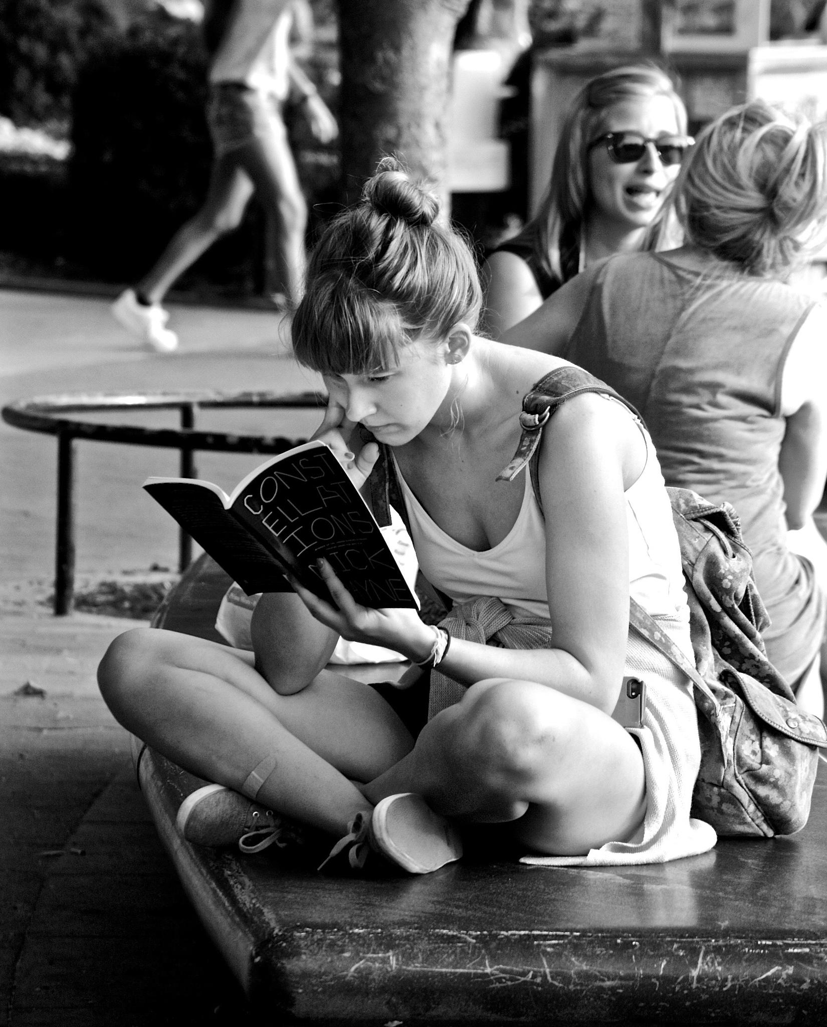 Sunday Reader by Kathy Lebron Photography