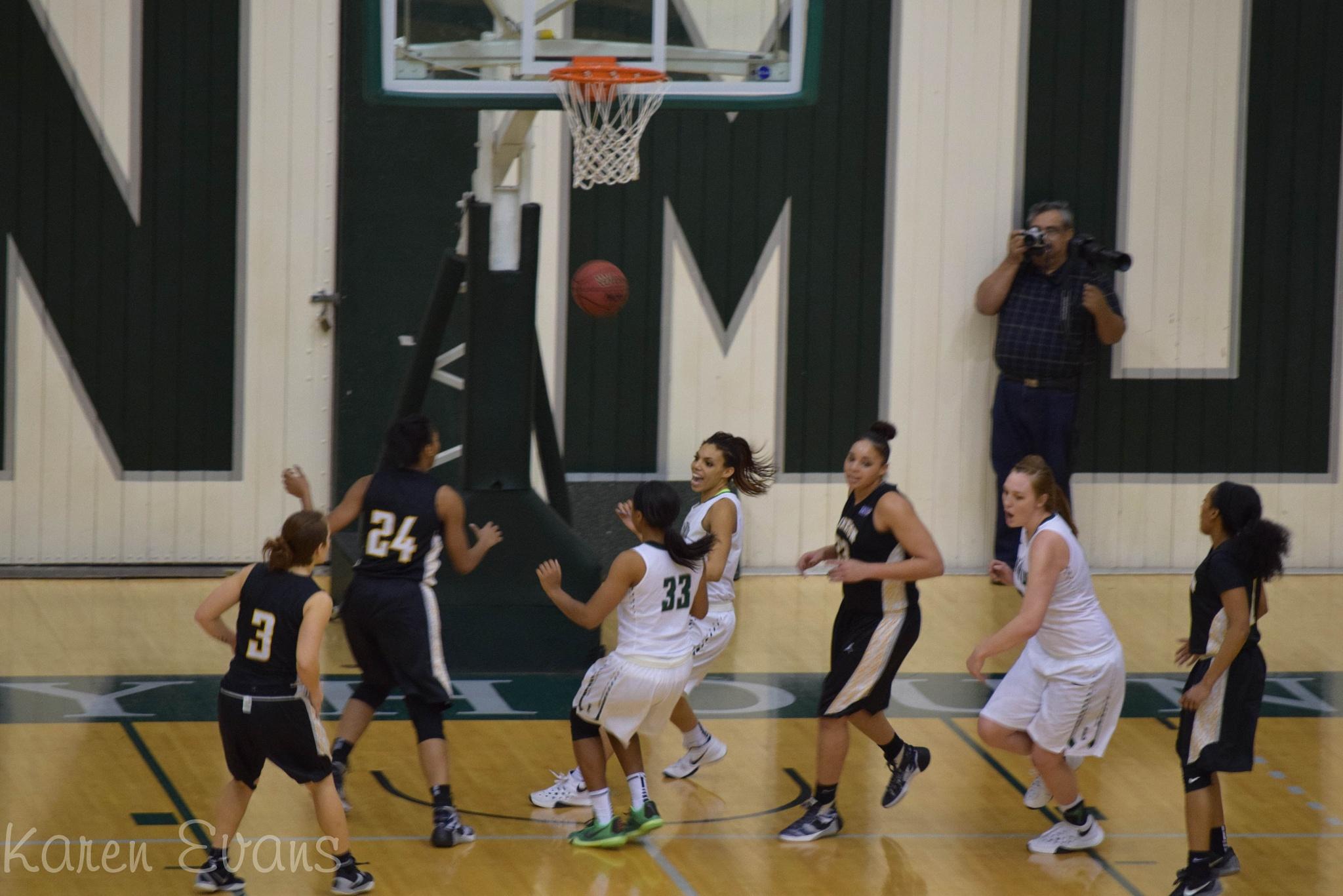 Basketball game ENMU by Karen Evans