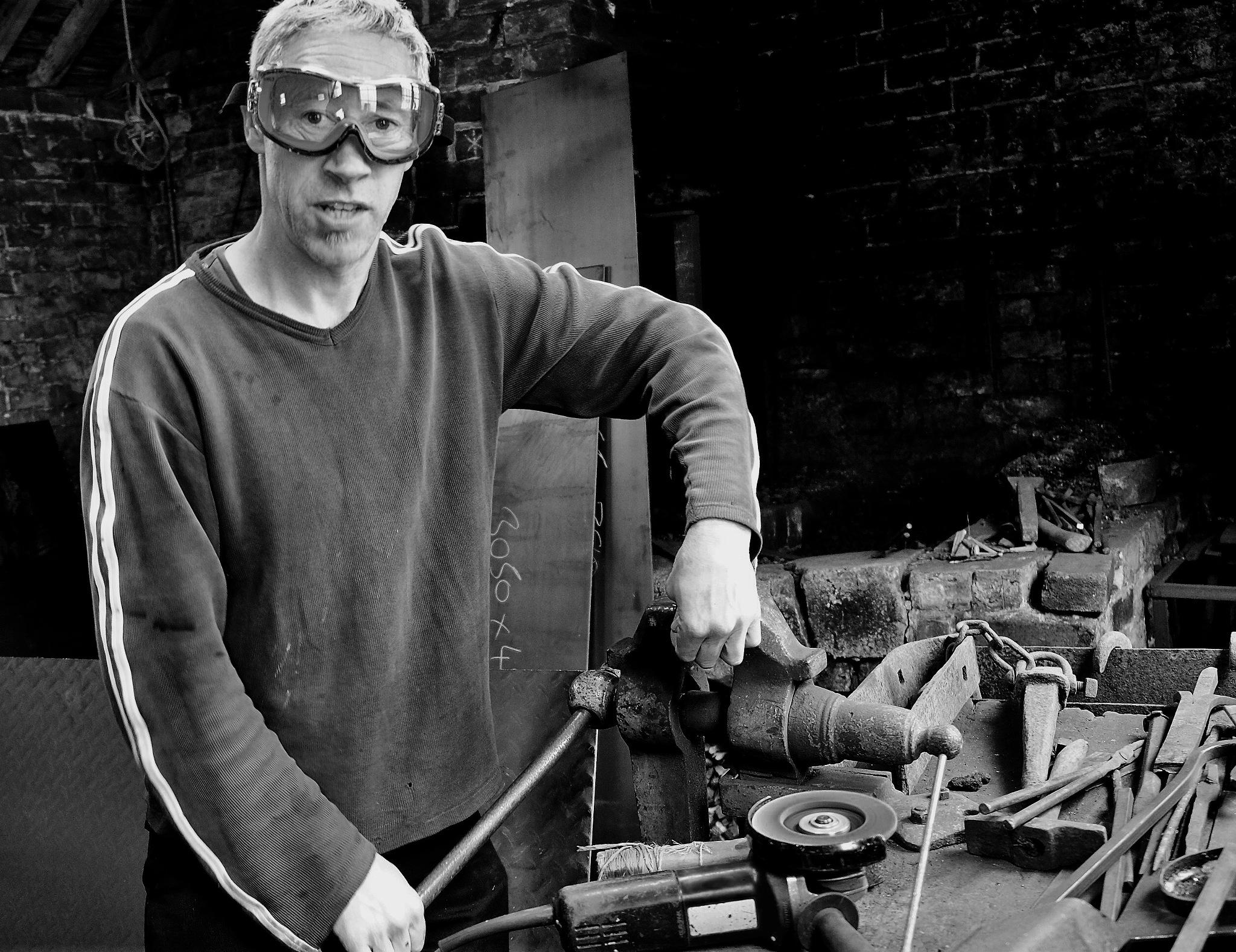 The Blacksmith,Banbury in Oxfordshire  by Jim Darke