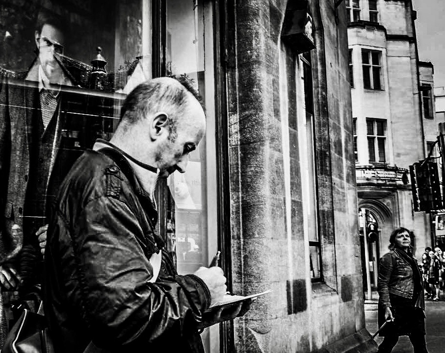 Oxford UK,The Artist  by Jim Darke