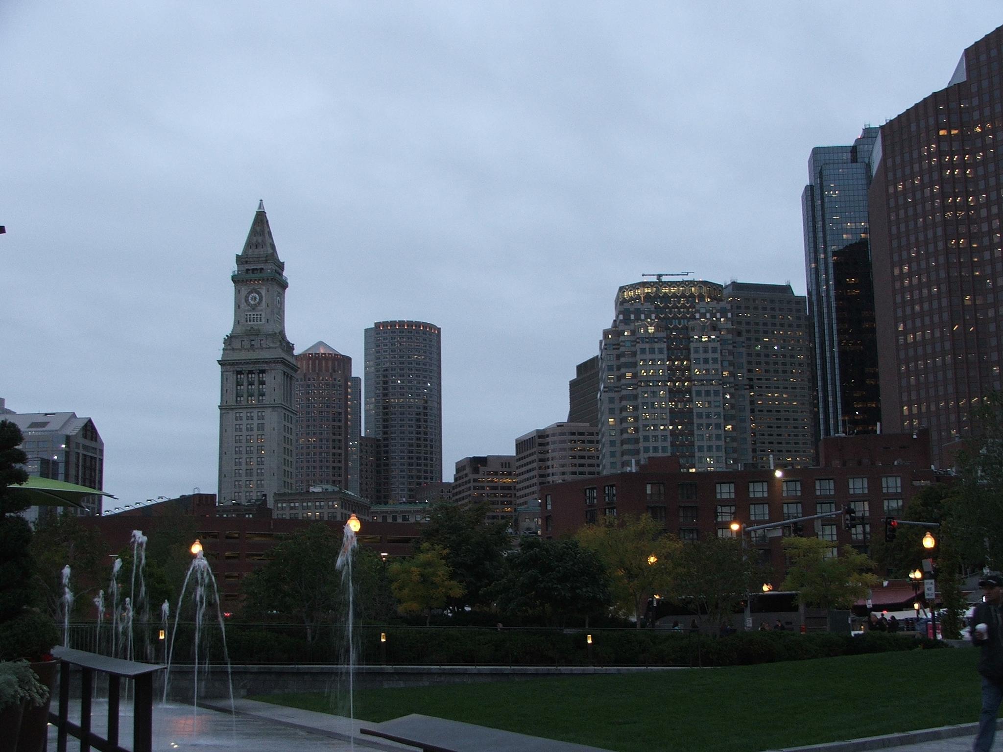 Nightfall on Boston by tazgirl1981