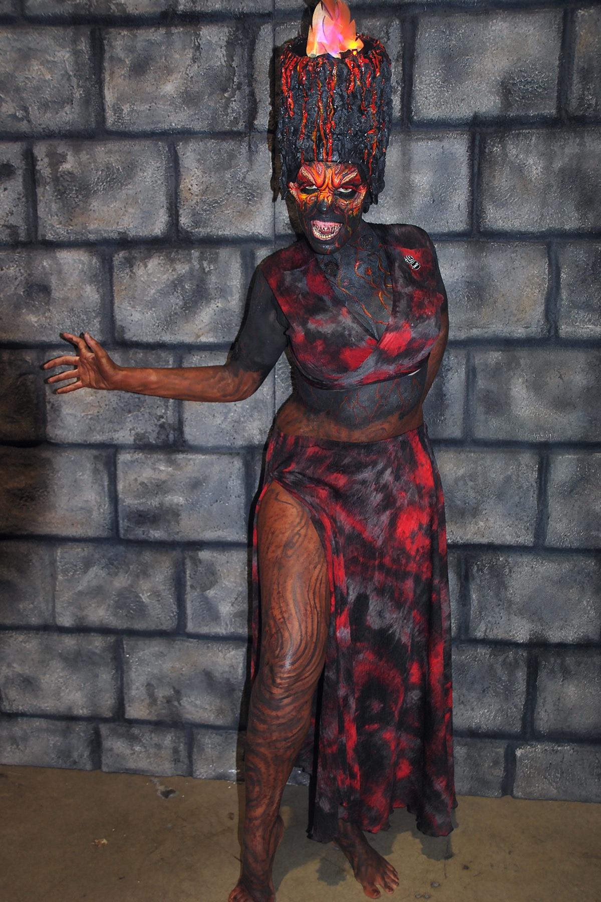 Female Lava Demon by Lormet-Images