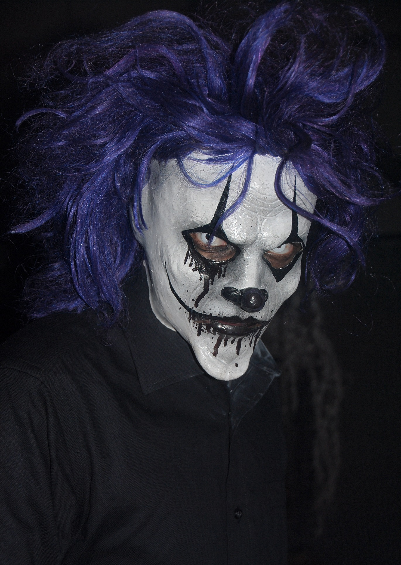 Creepy clown mask by Lormet-Images