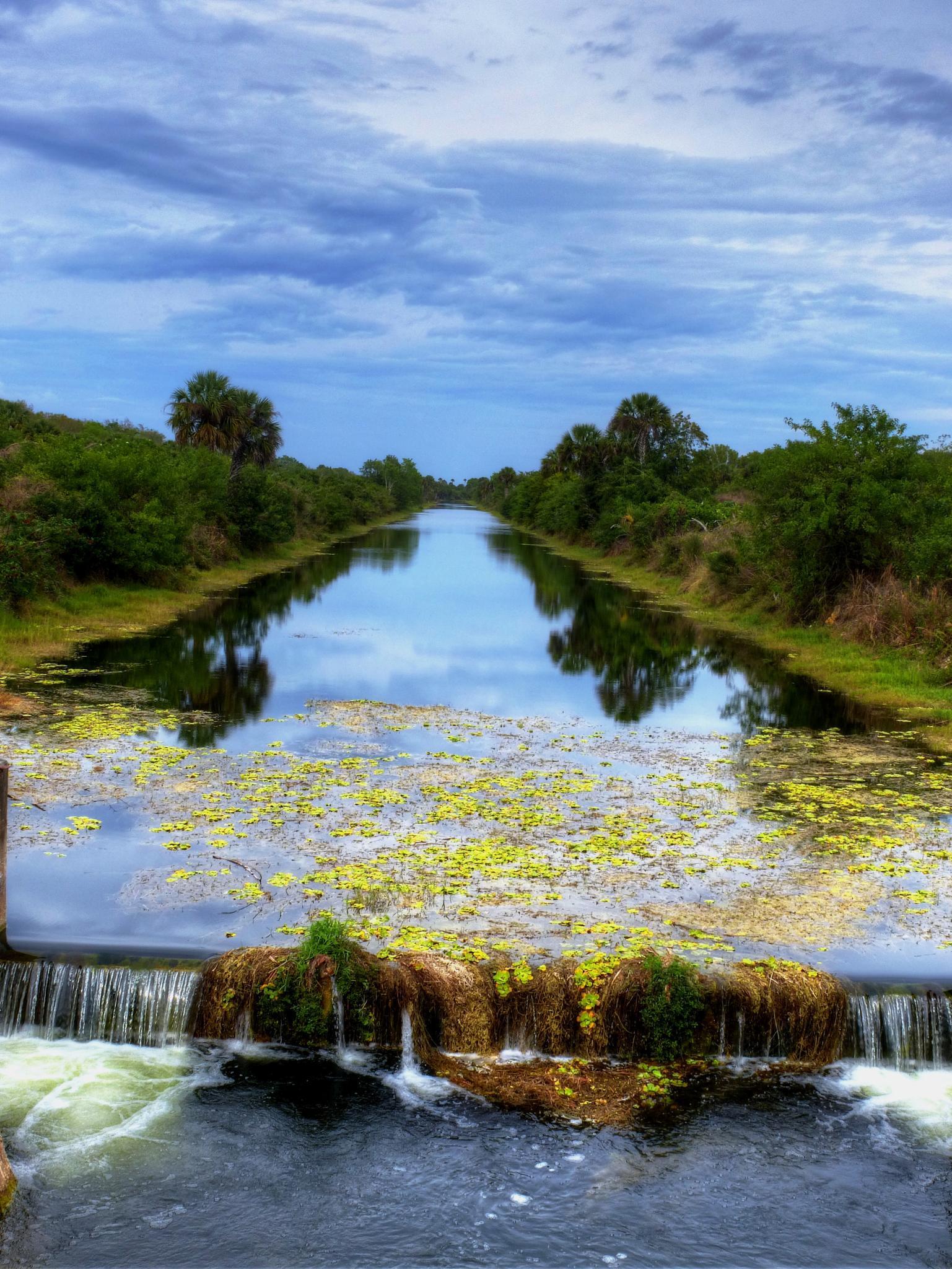 Irrigation lock, Frakahatchee Strand, FL by downwindpassage