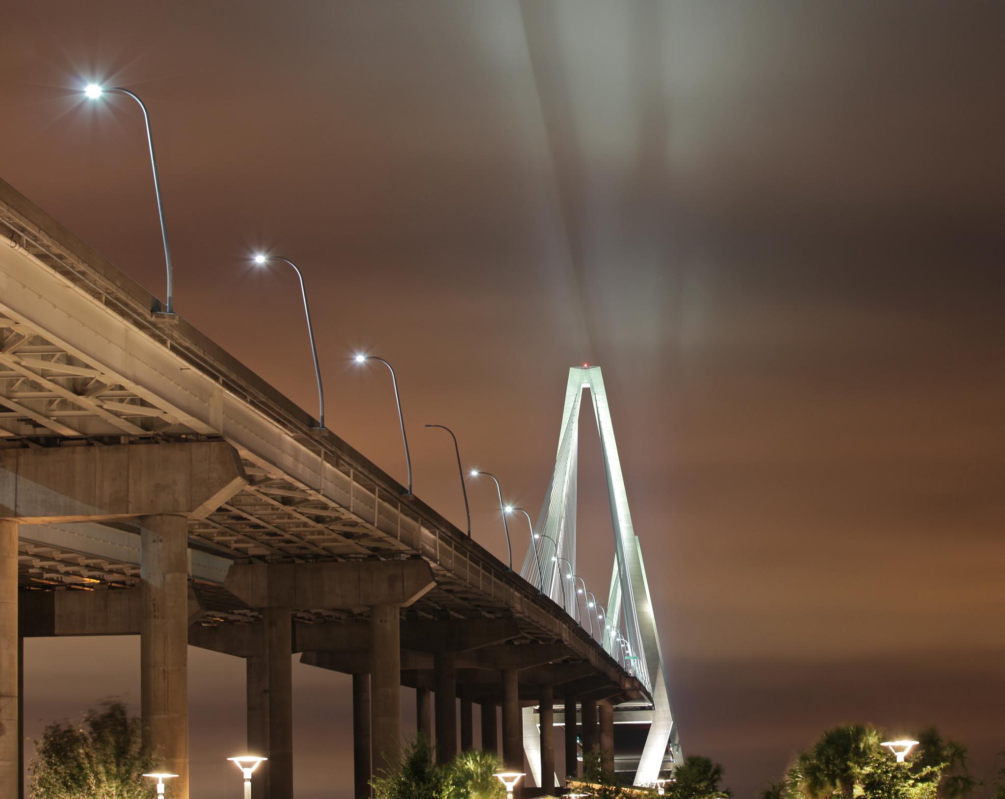 Ravennel Bridge, Charleston, SC by Tom Ratigan