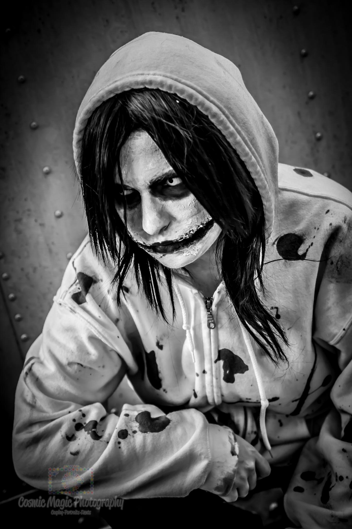 Creepypasta - Jeff The Killer @ Hoshicon 2015 by Gina Adkins