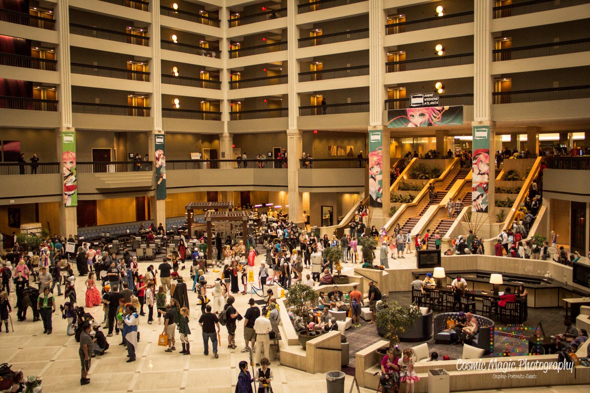 Anime Weekend Atlanta 2015 - Convention Shots by Gina Adkins