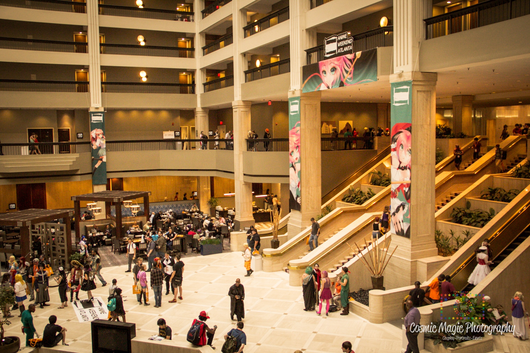 Anime Weekend Atlanta 2015 - Convention Shots by Gina Adkins